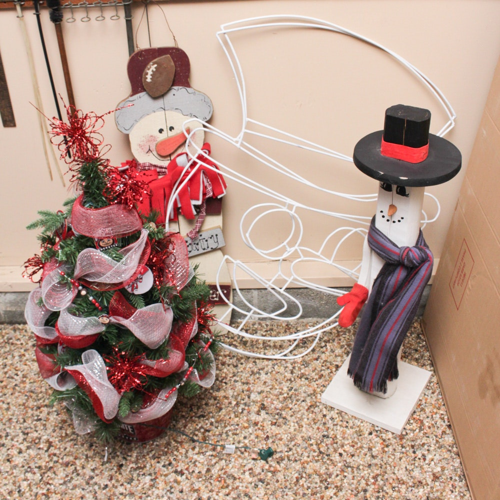 Ohio State Buckeyes Christmas Decor and More