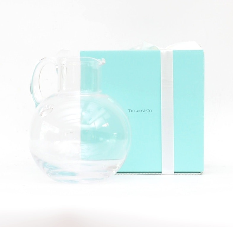 "Tiffany & Co. Crystal ""Refresher"" Pitcher"
