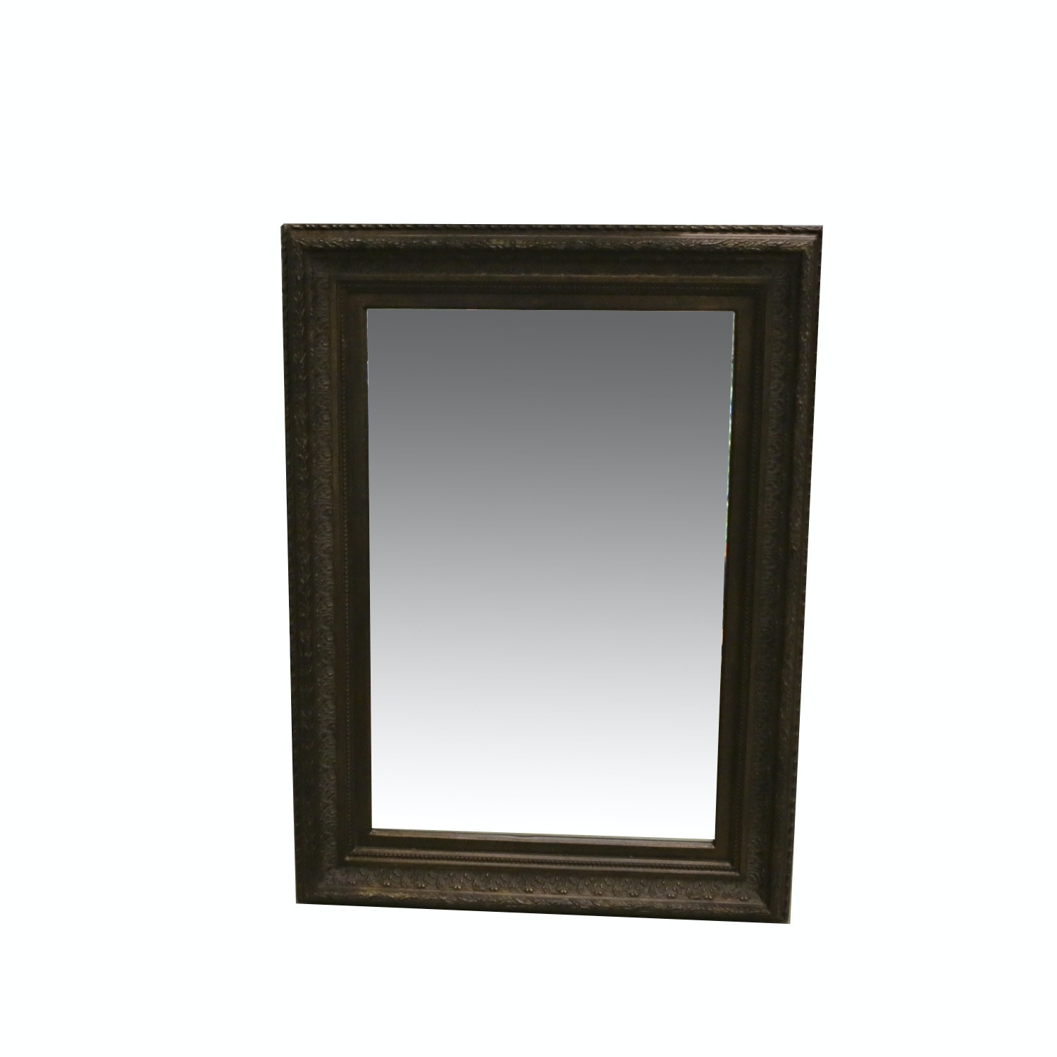 Wall Mirror With Decorative Frame
