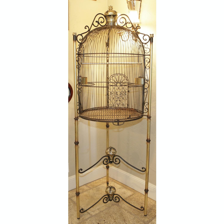 Large Decorative Metal Bird Cage