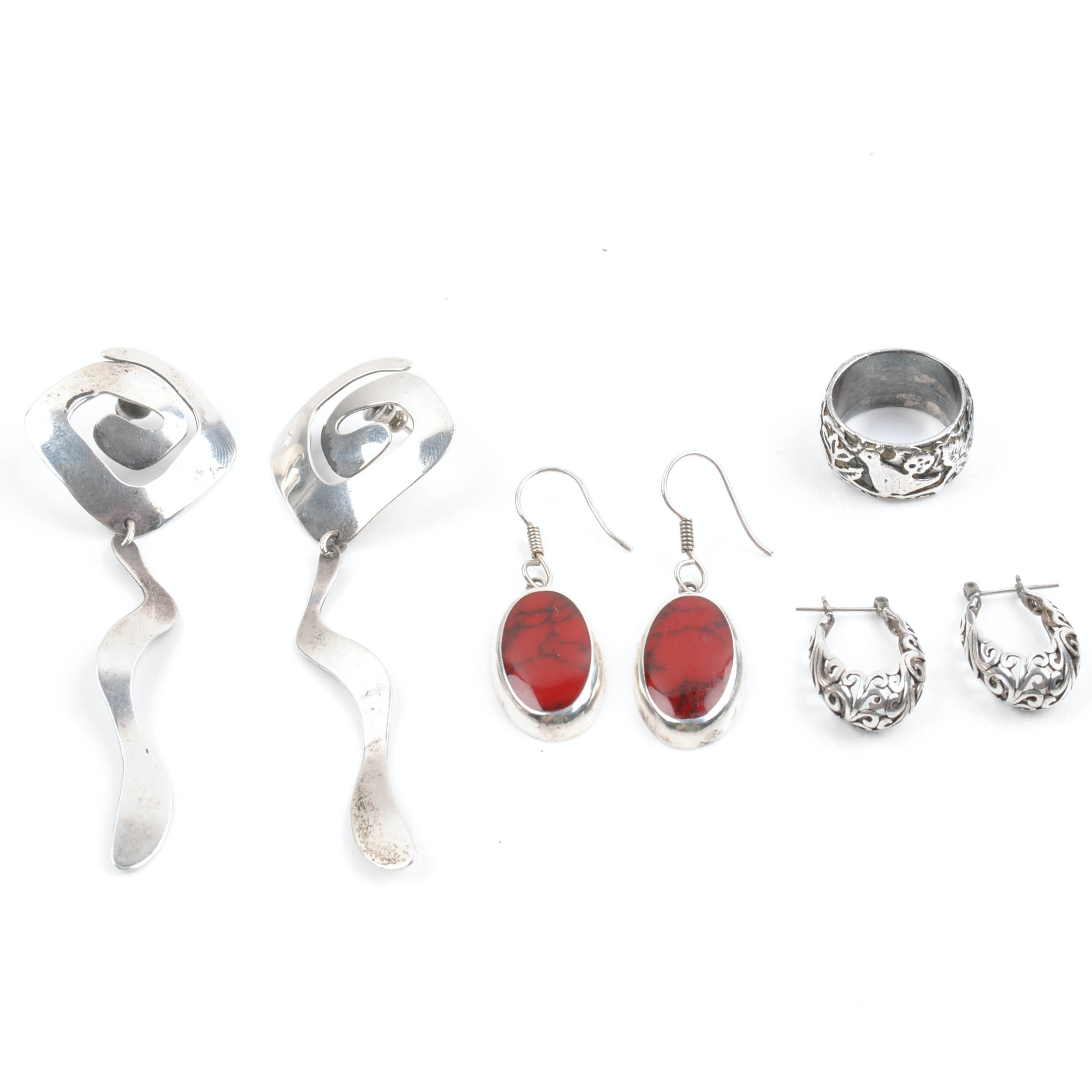 Sterling and 900 Silver Jewelry