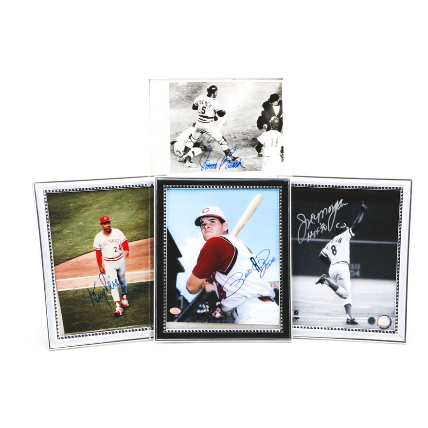 7468762510 Rose, Perez, Bench, and Morgan Signed Pictures : EBTH