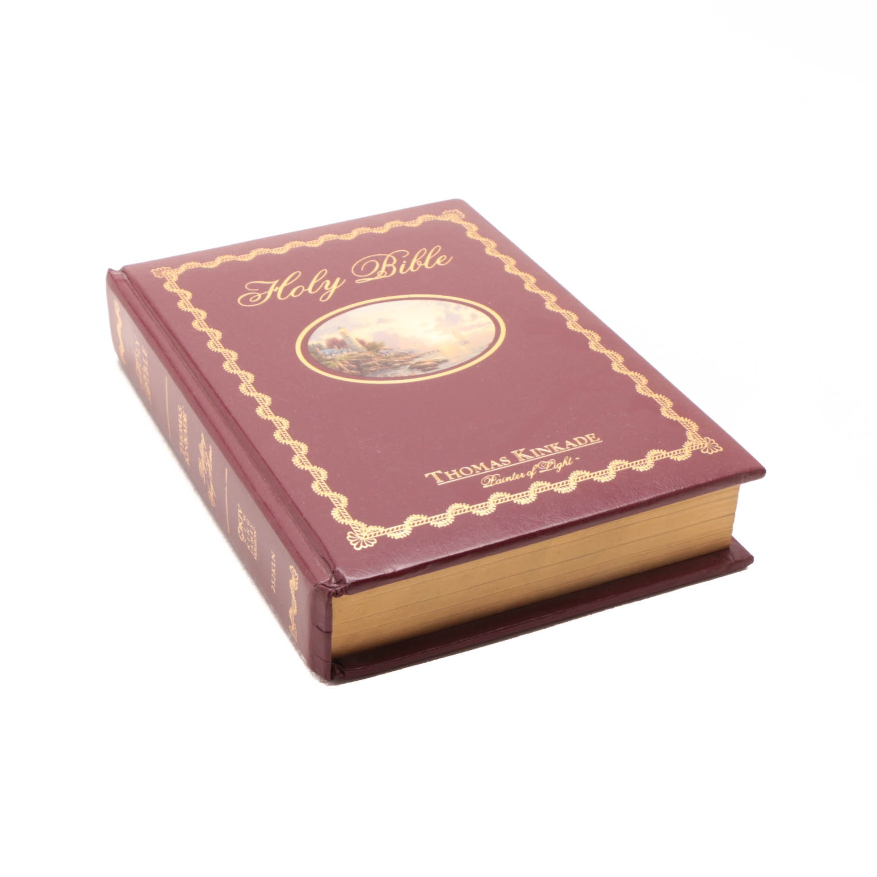 Thomas Kinkade Illustrated Holy Bible
