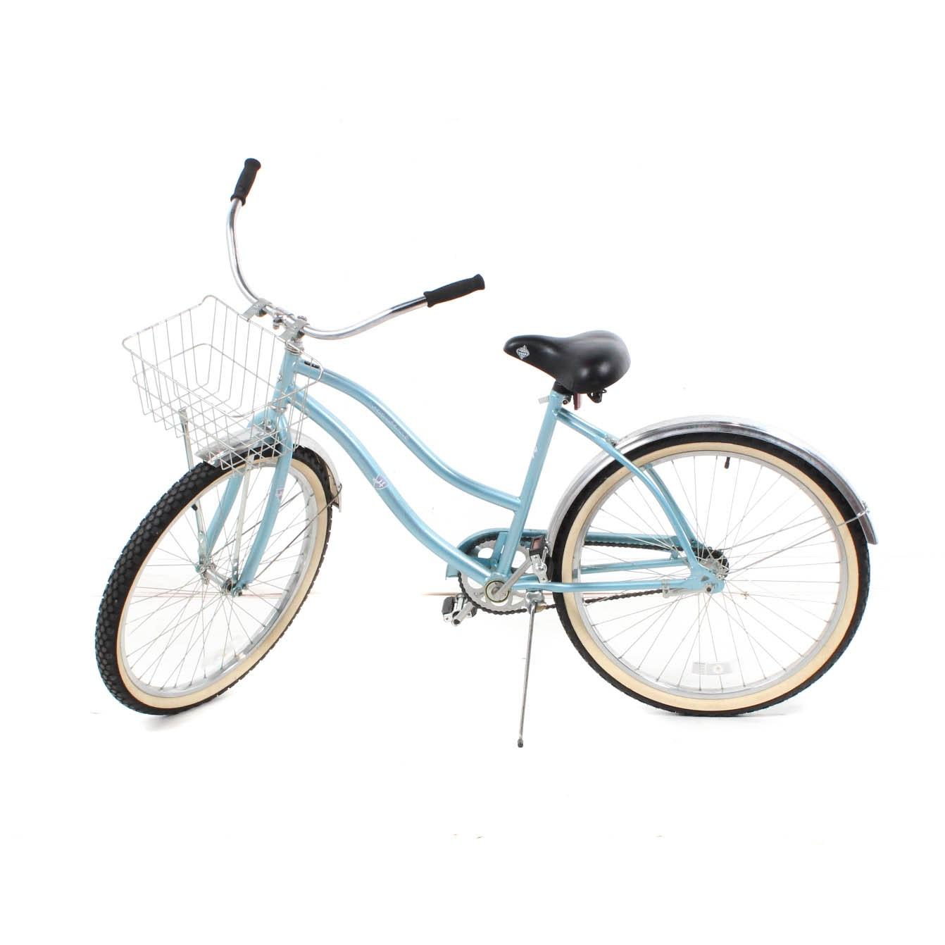 Huffy Cranbrook Ocean Blue Cruiser Bike