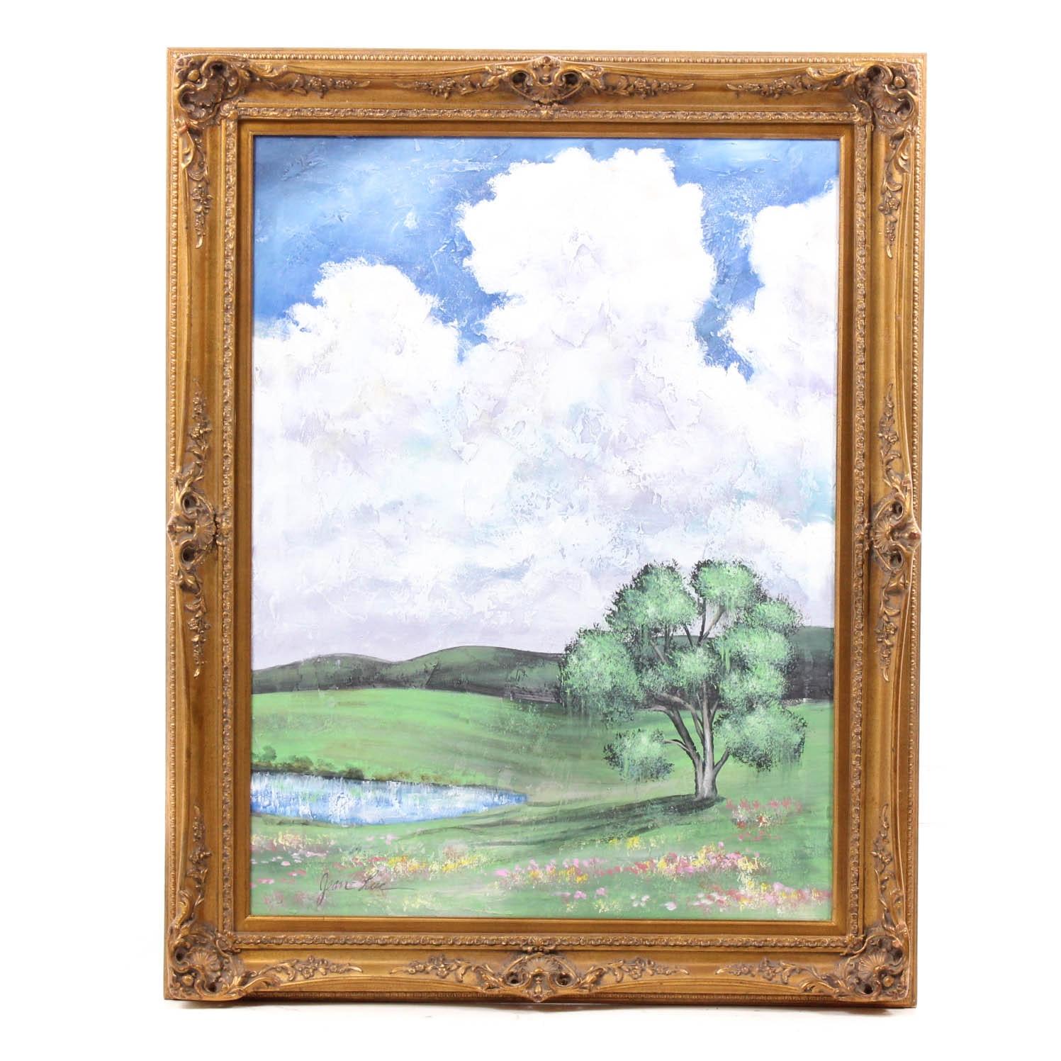 Jean-Luc Original Oil Landscape