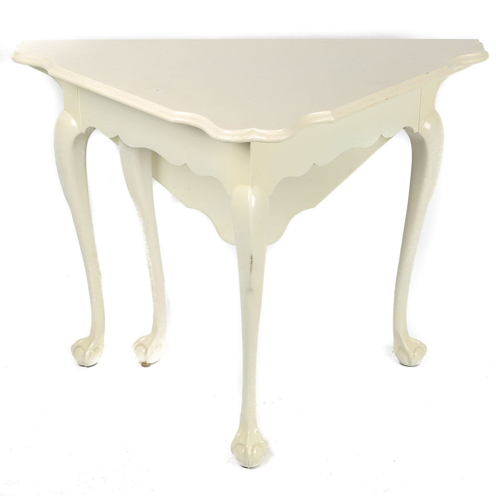 Vintage Queen Anne Gateleg Side Table