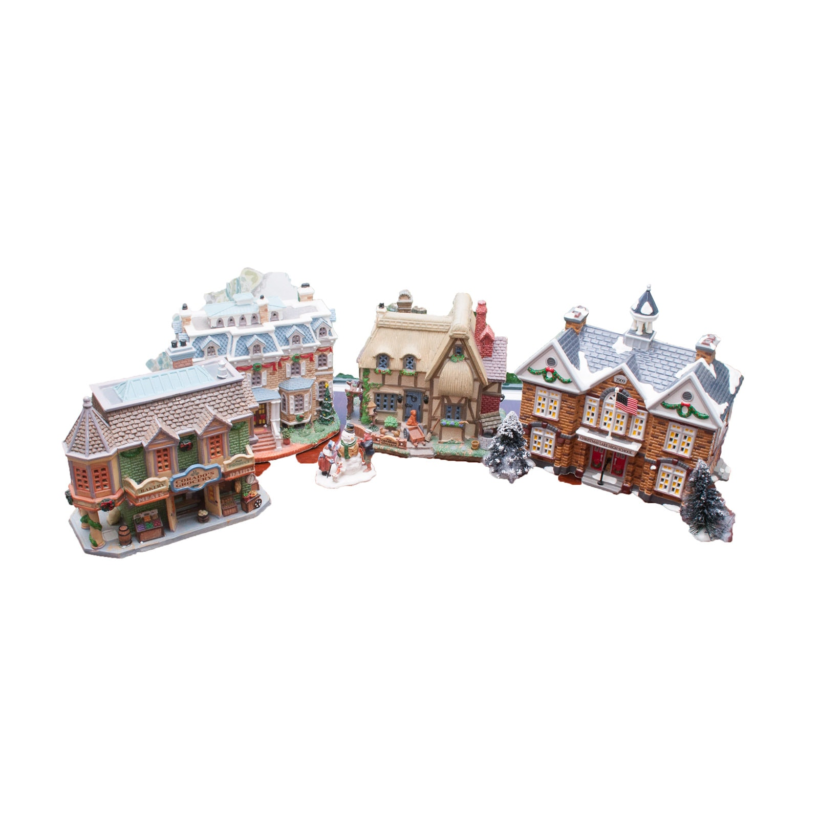 Lemax and Department 56 Christmas Village Collectibles