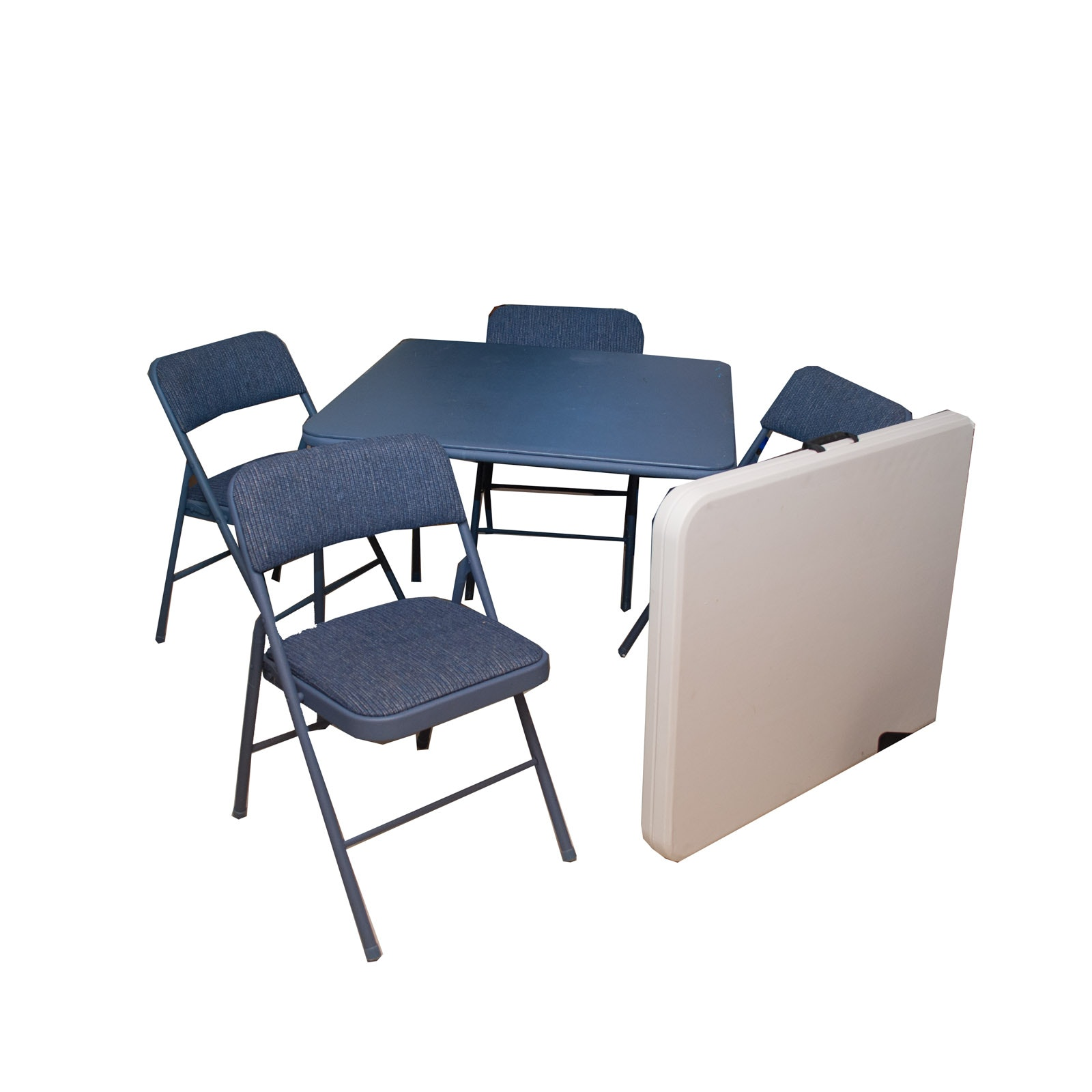 Folding Tables and Chair Set