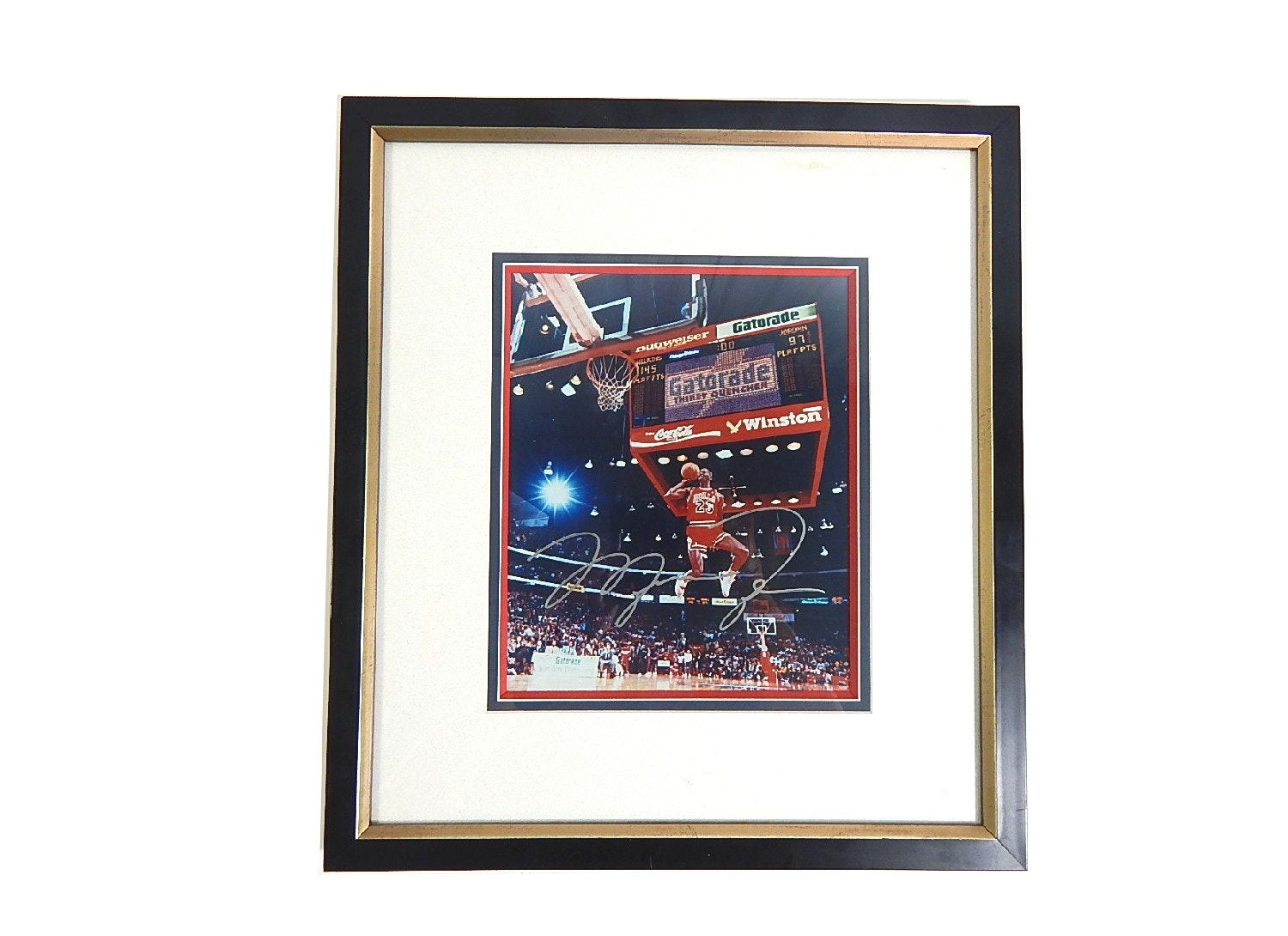 Sports Investments Authenticated Michael Jordan Framed Signed Photograph