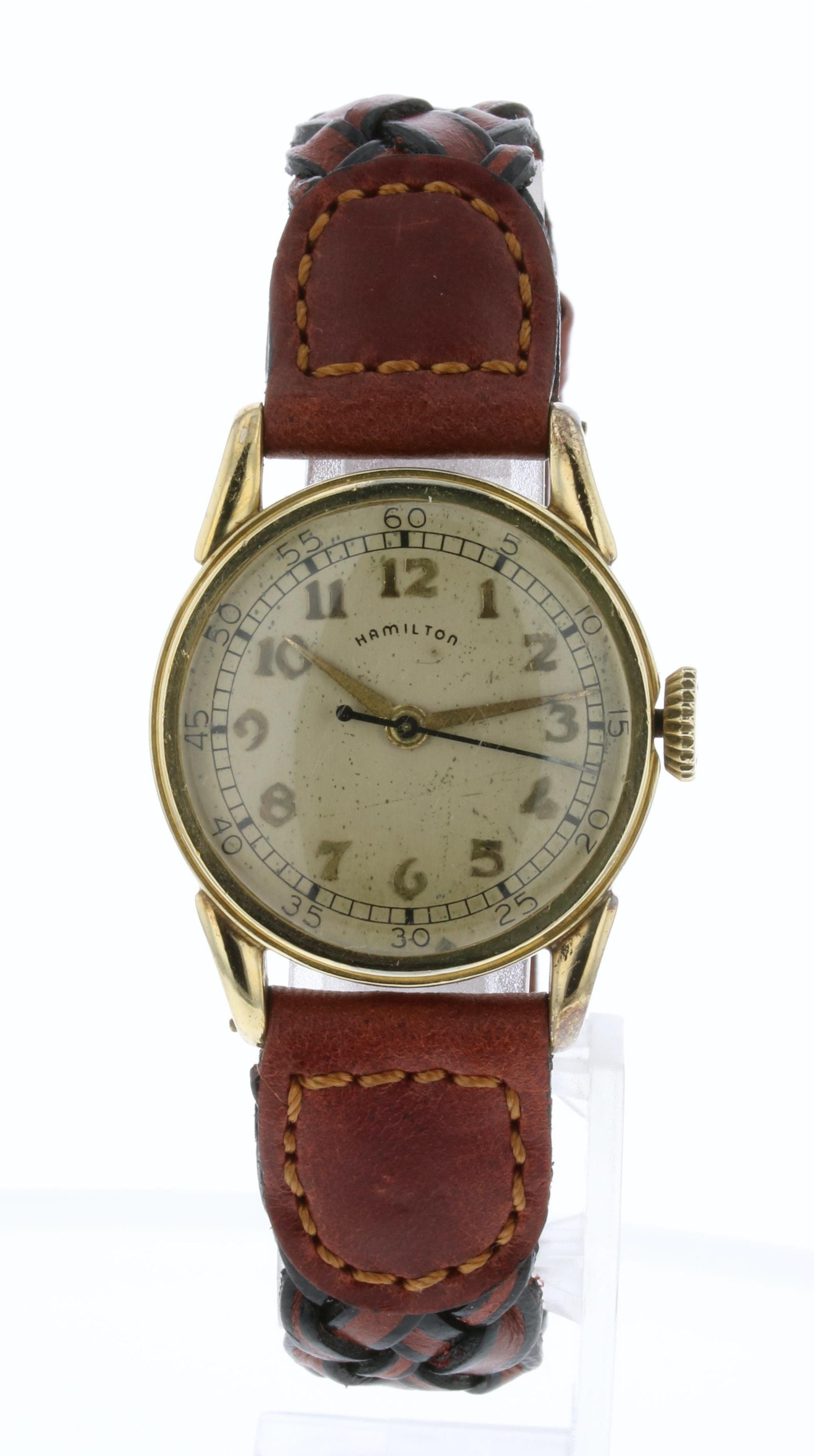 Hamilton 10K Gold Filled Wristwatch