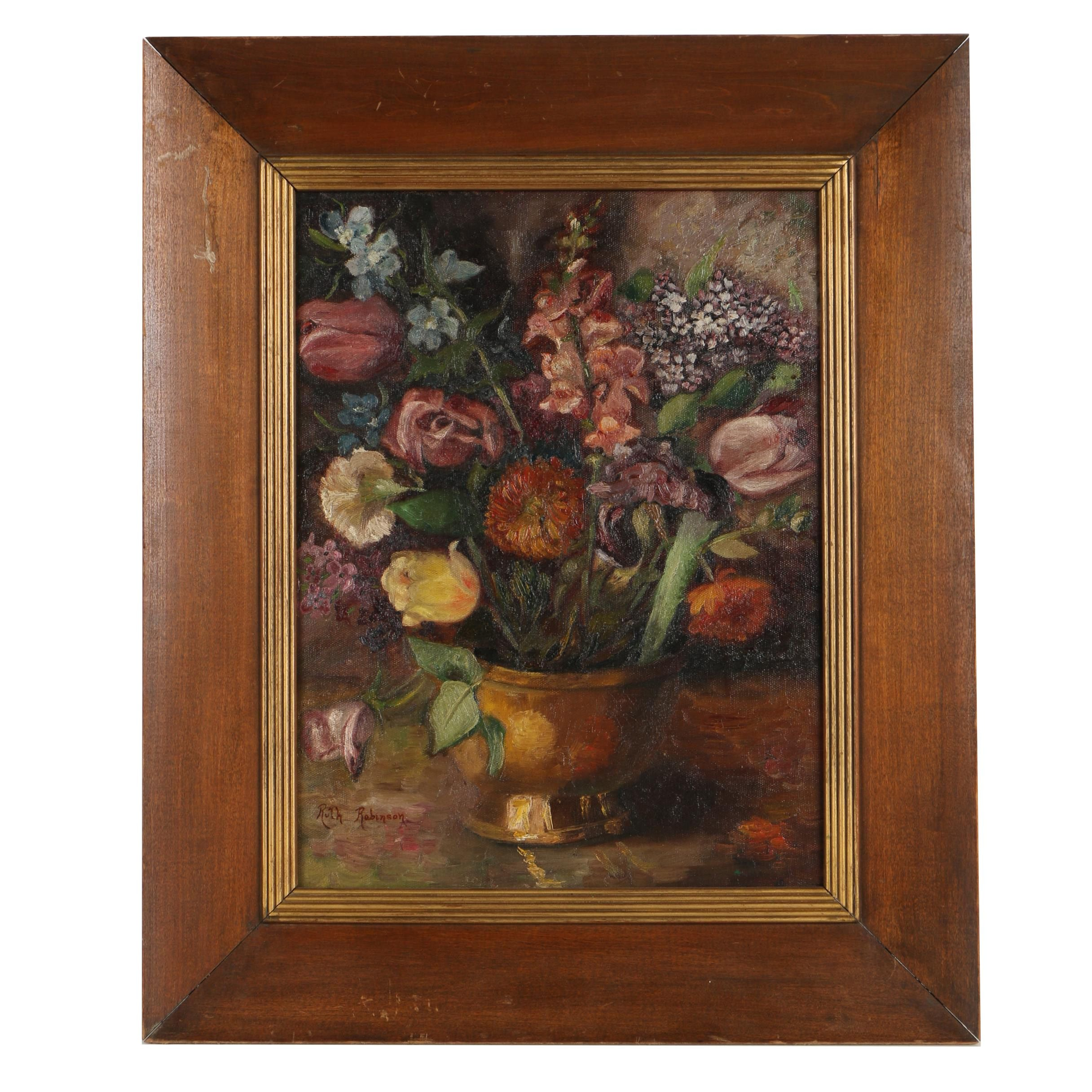 Ruth Robinson Oil Painting