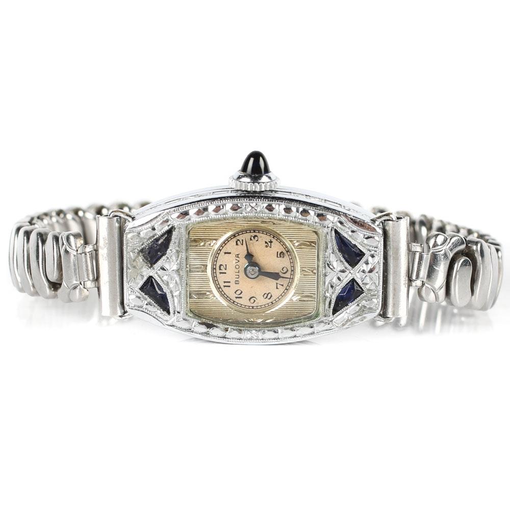 Bulova Art Deco Style Wristwatch