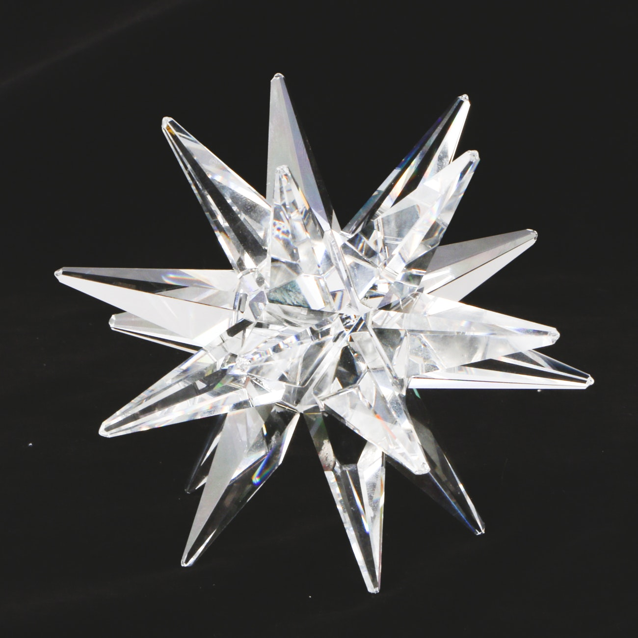 Marked Swarovski Austrian Made Crystal Paperweight