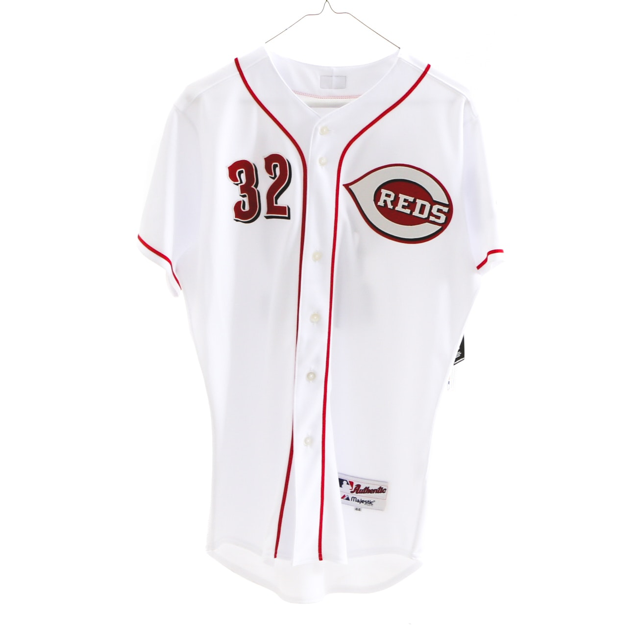 Jay Bruce Reds Signed Baseball Jersey MLB COA