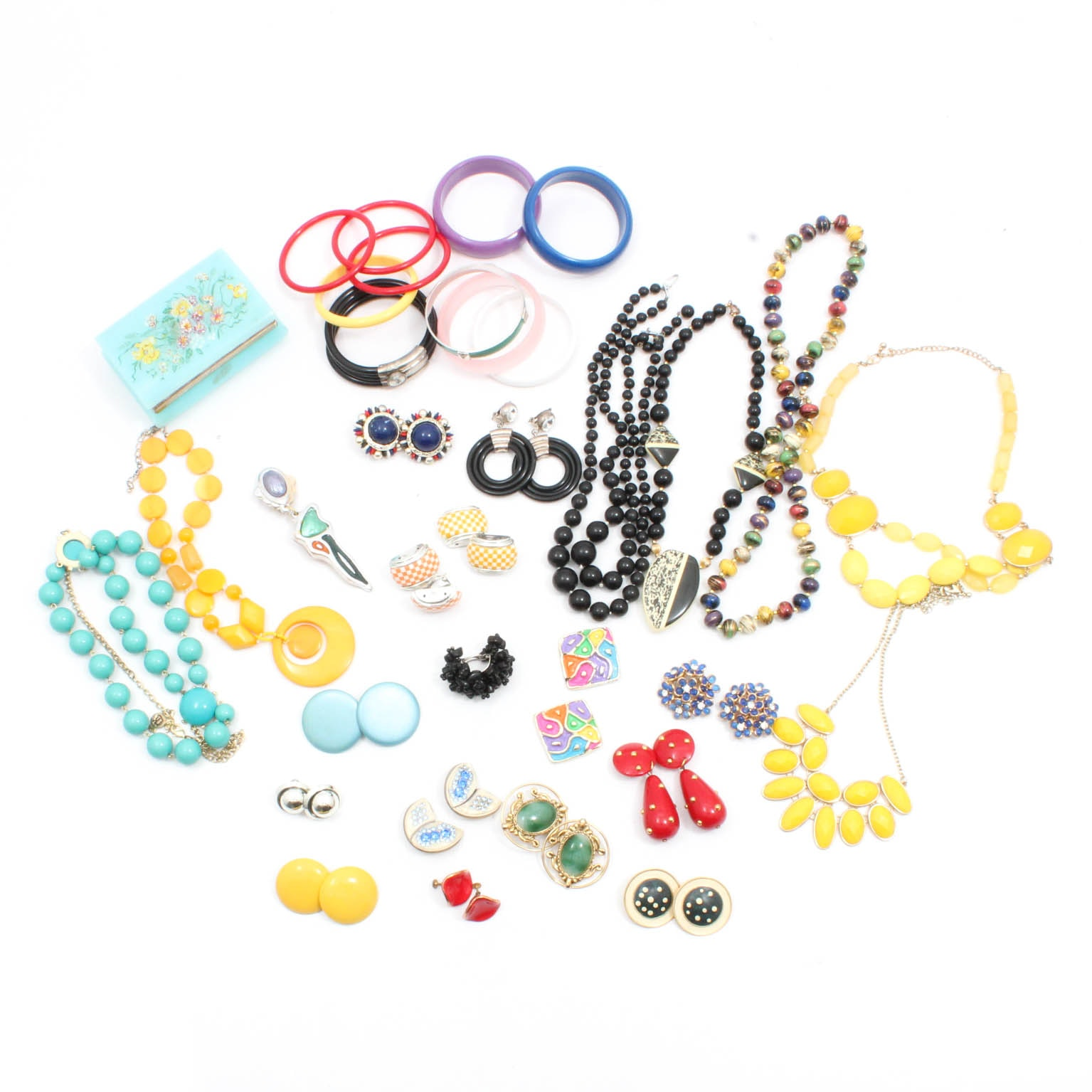 Acrylic Costume Jewelry Collection