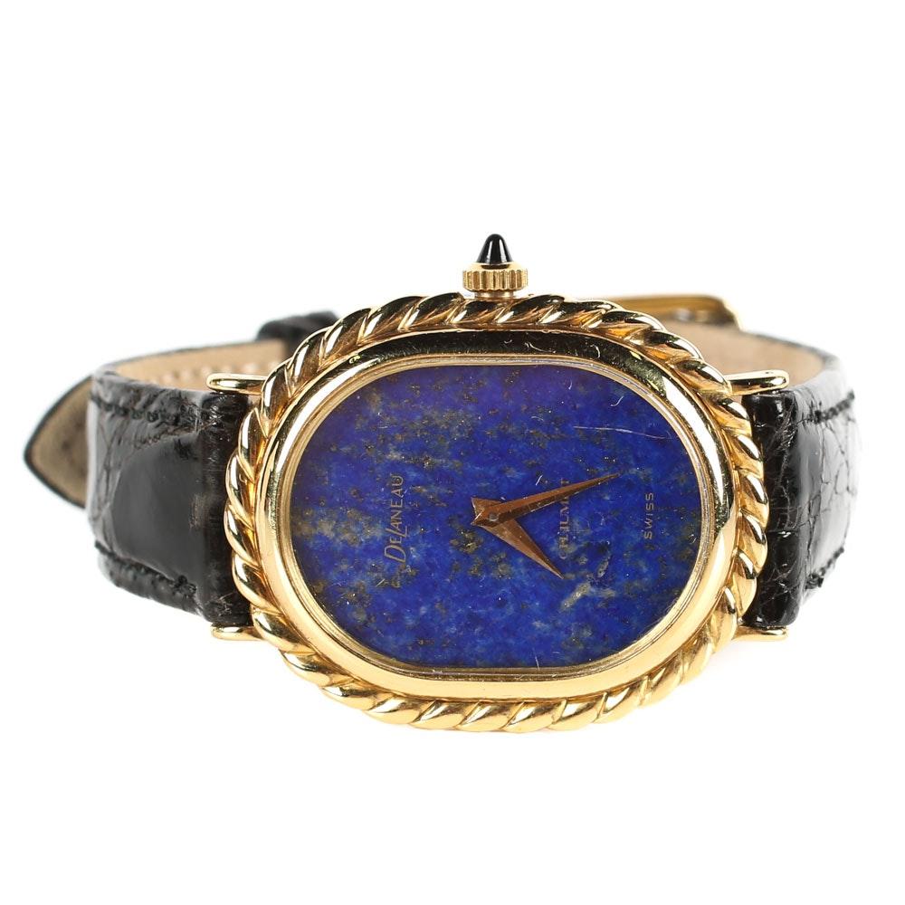 18K Yellow Gold Chaumet DeLauneau Wristwatch