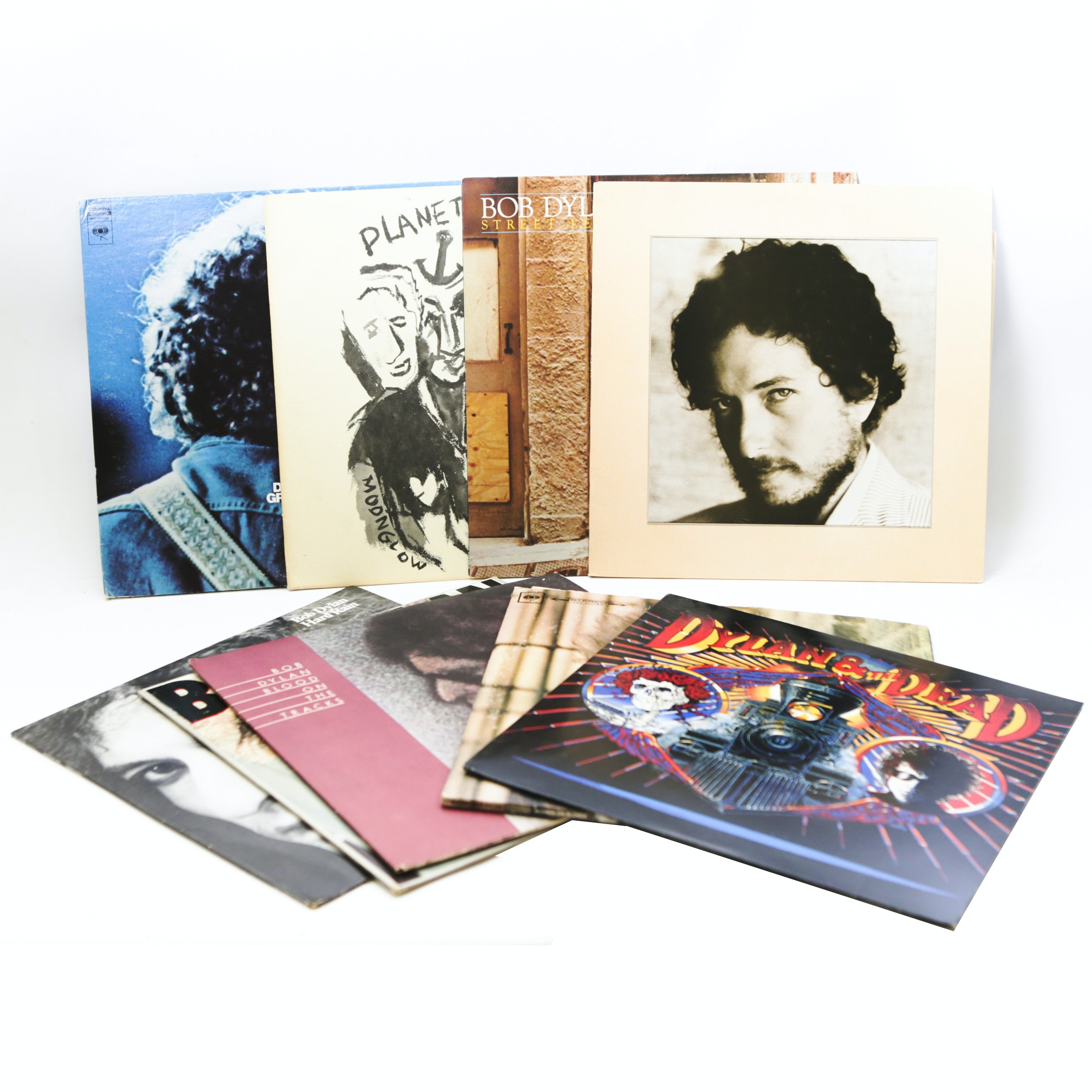 """""""Blood On The Tracks"""", """"New Morning"""", """"Infidels"""" and Other Bob Dylan LP Records"""
