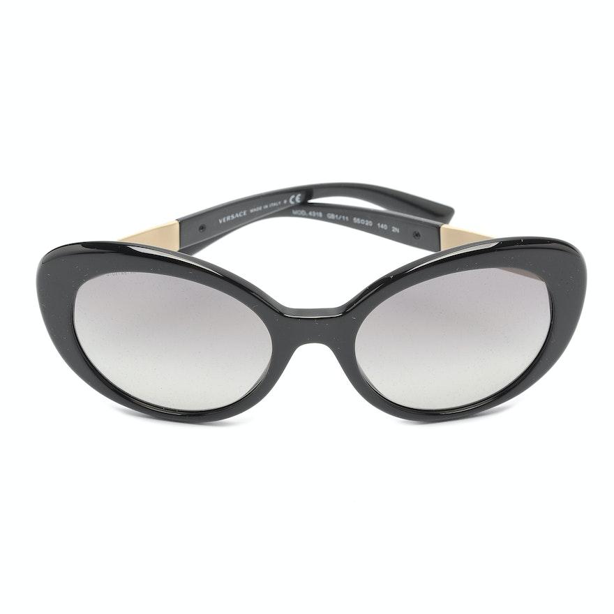 96a6e99b46 Versace Sunglasses in Black   EBTH