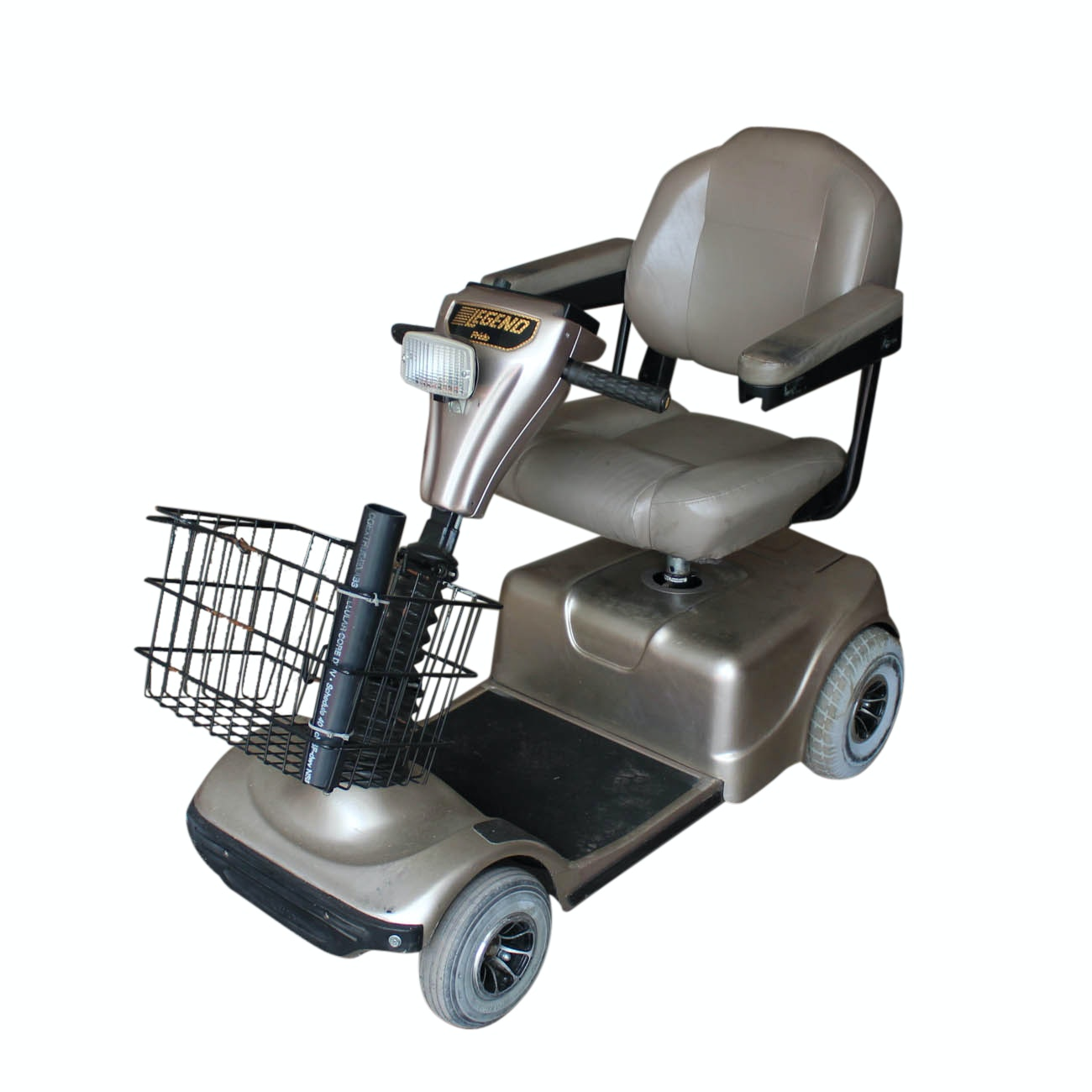 """Pride """"Legend"""" Mobility Scooter with Aluminum Trailer"""