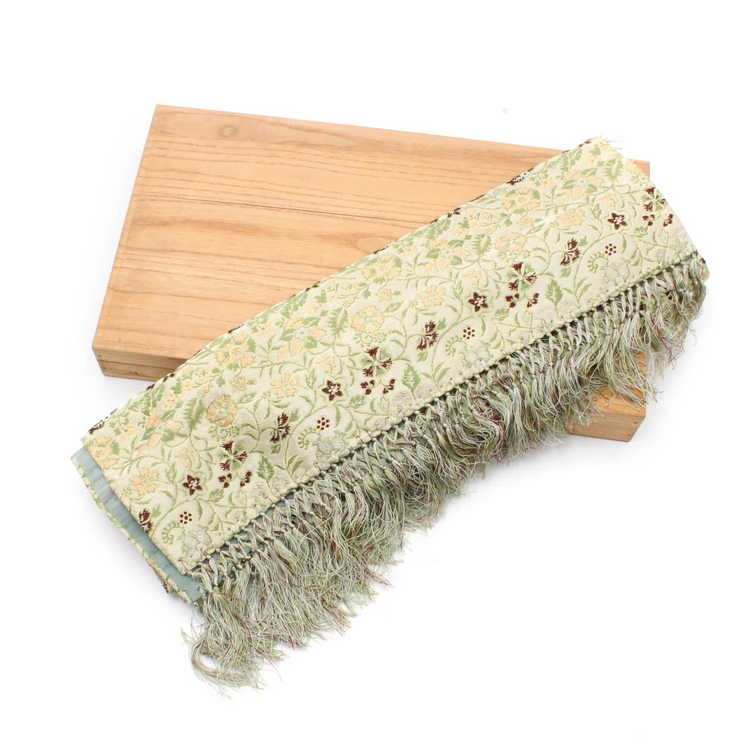 Japanese Heizo Tatsumura Silk Brocade Textile