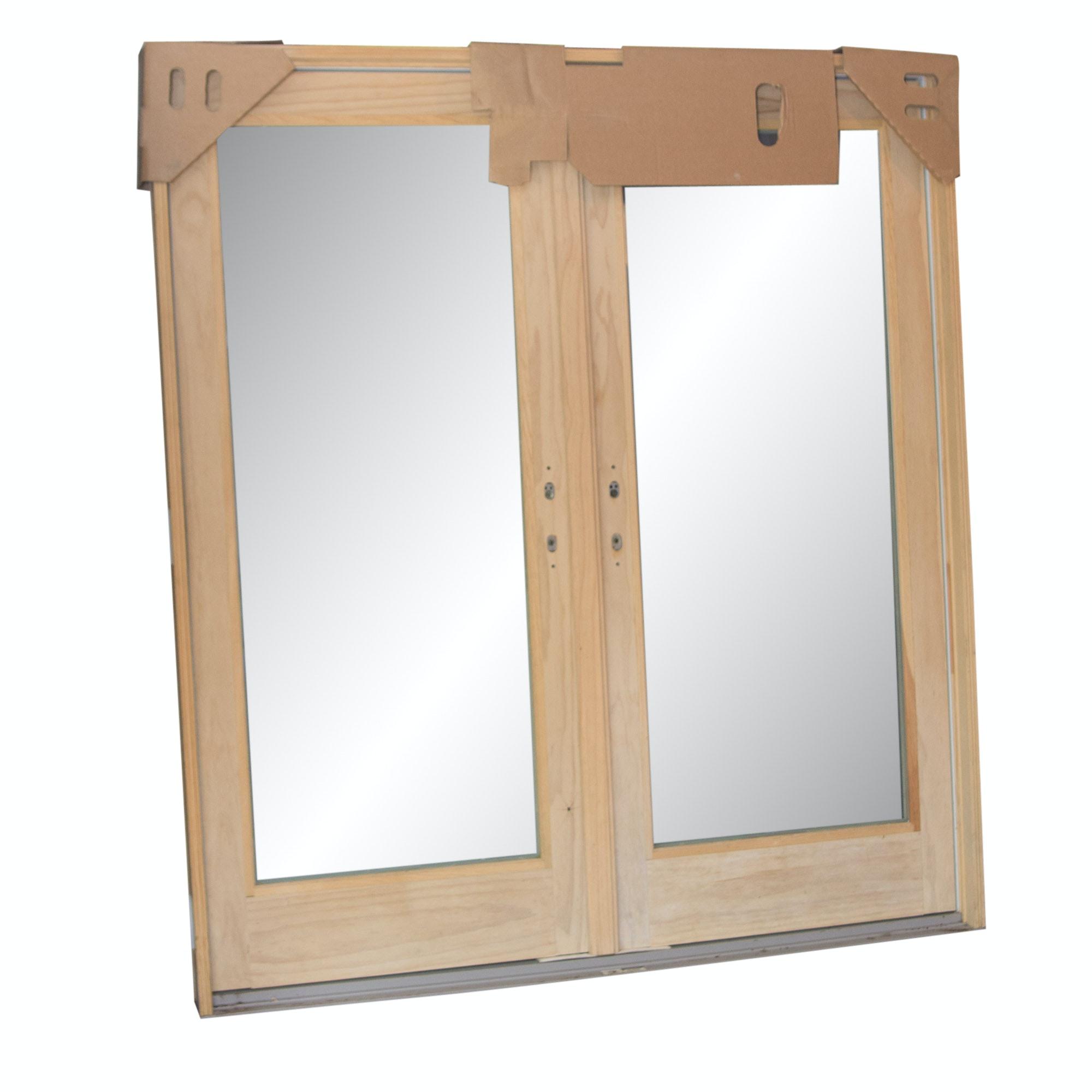 Two Andersen Frenchwood Outswing Doors