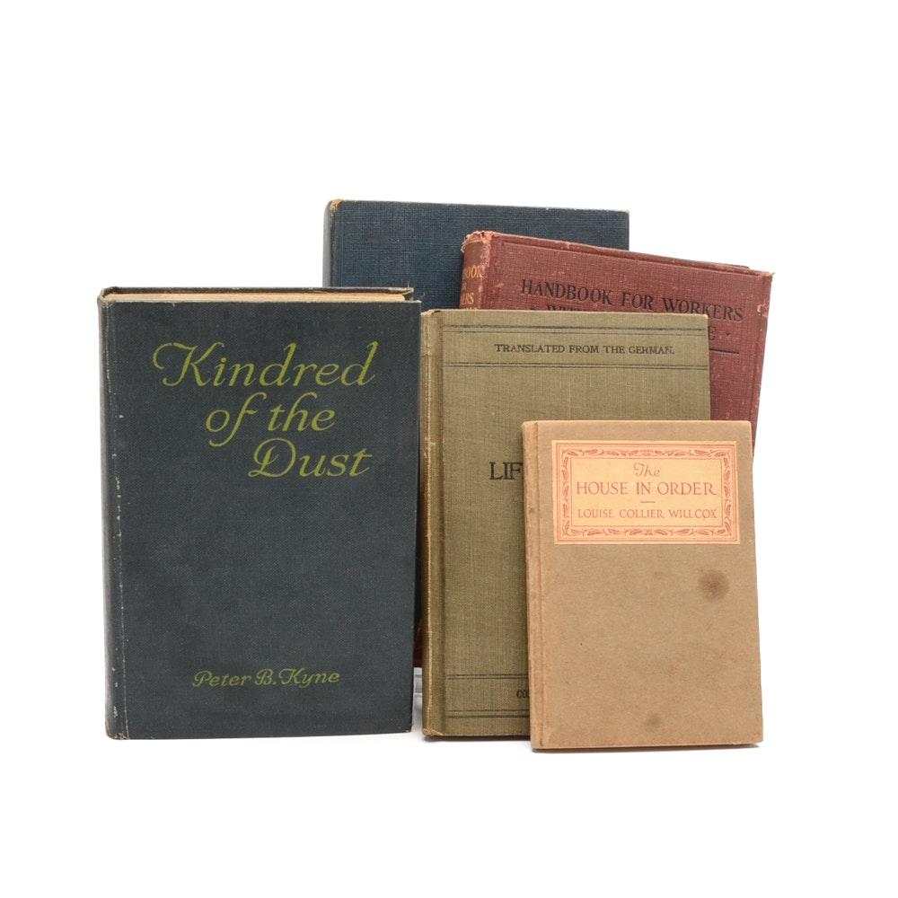 Assorted Vintage Books Including Rev. Martin Luther