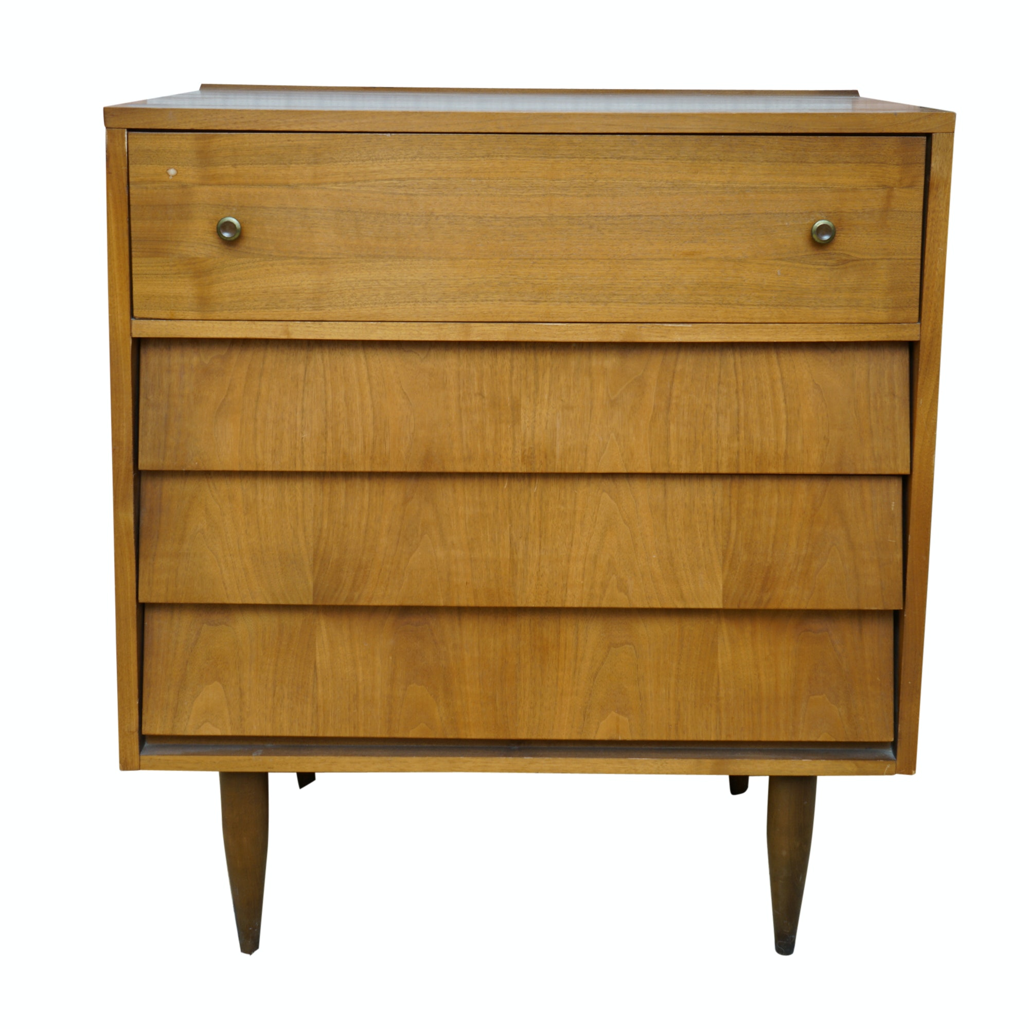 Mid Century Modern Teak Small Chest Of Drawers By Harmony House ...