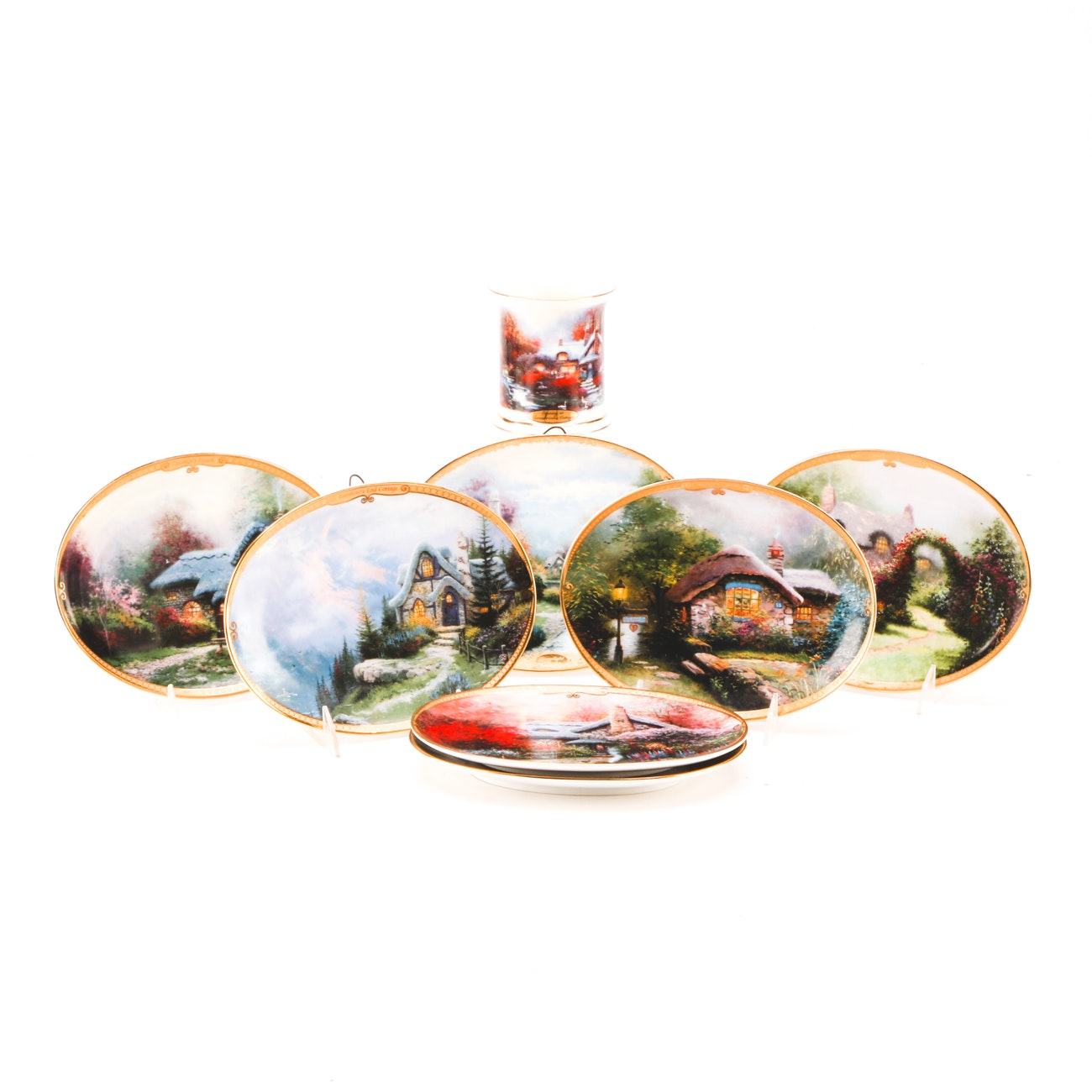 Thomas Kinkade Collectible Plates