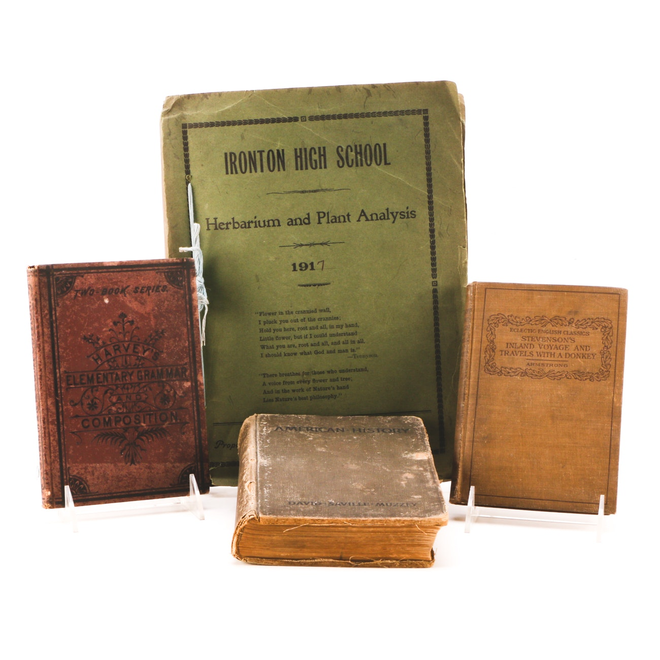 Assorted Vintage Educational Books