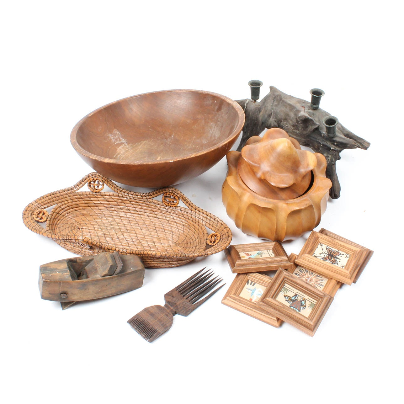 Woodenware Decor Grouping