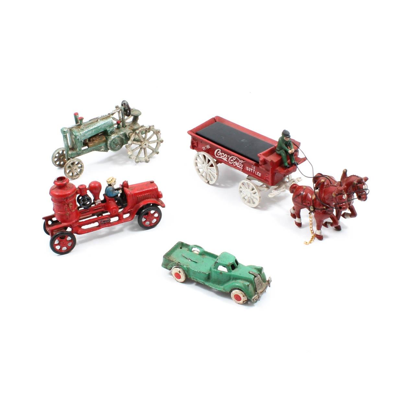 Vintage Cast Iron Toys