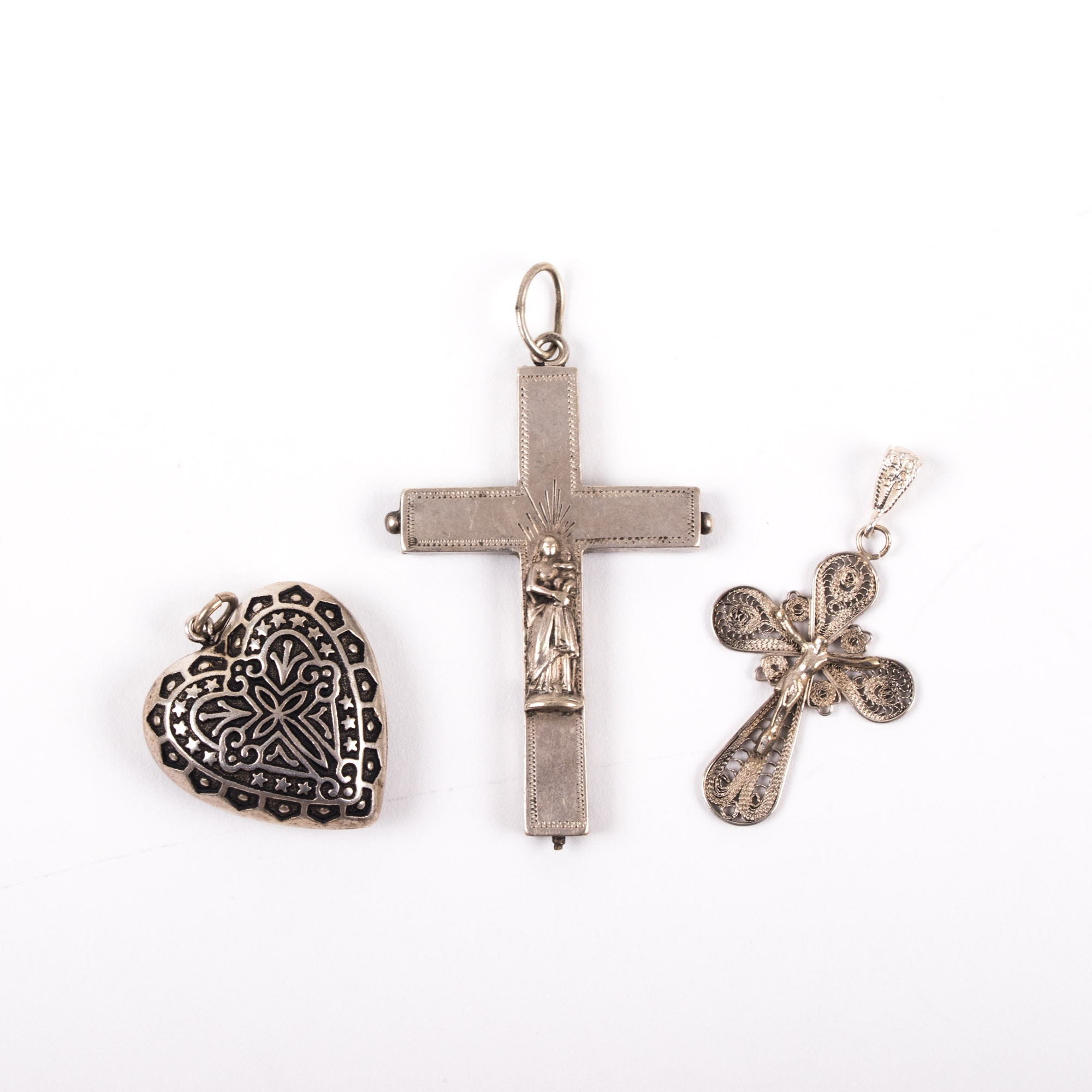 Three Religious Pendants