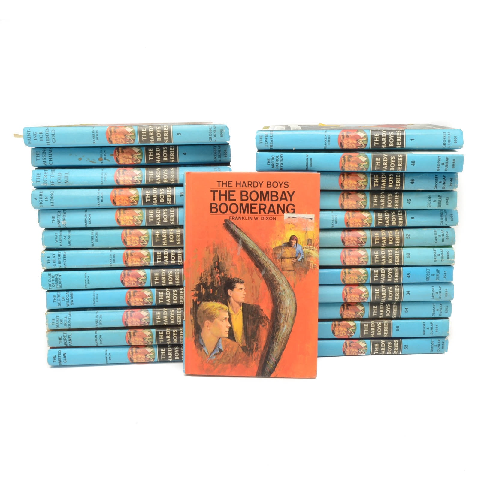 "Twenty-Five Volumes of ""The Hardy Boys Series"""