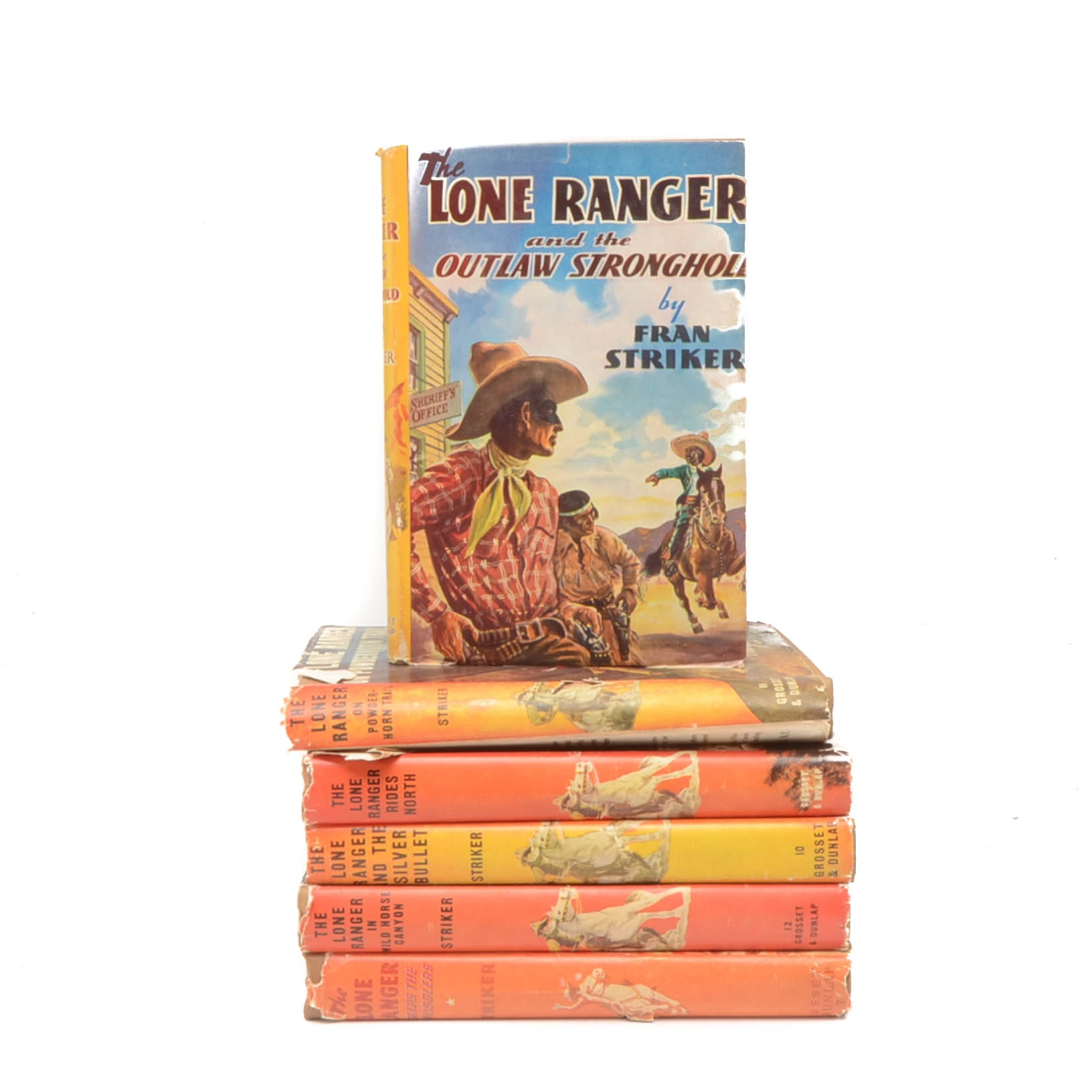 "Six Volume Set of ""The Lone Ranger"" Series"