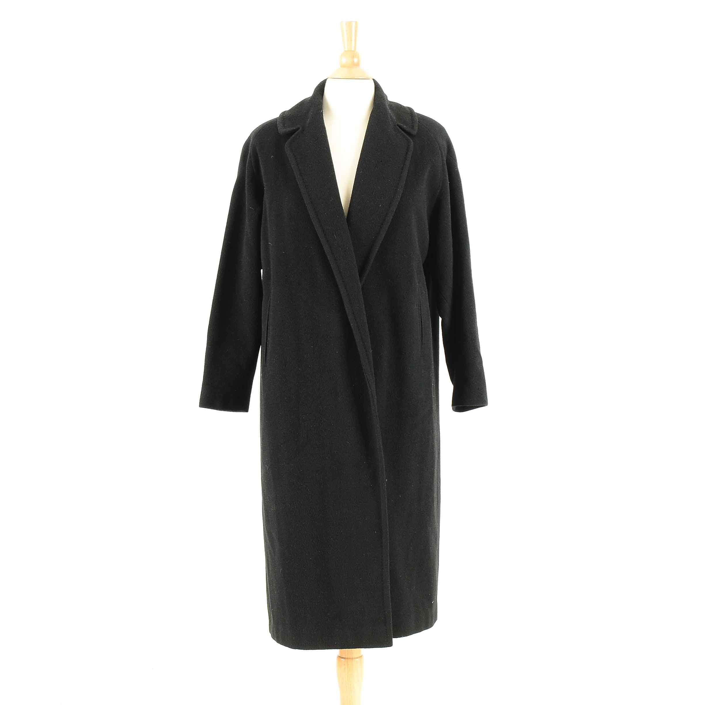 Women's Vintage Brentshire Black Cashmere Coat