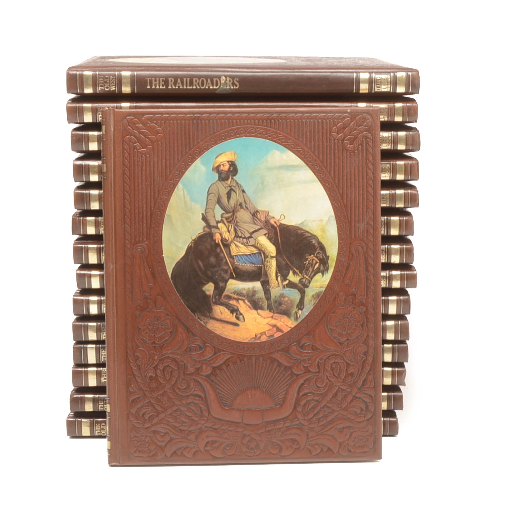 """Fifteen Volumes of """"The Old West"""" by Time Life Books"""
