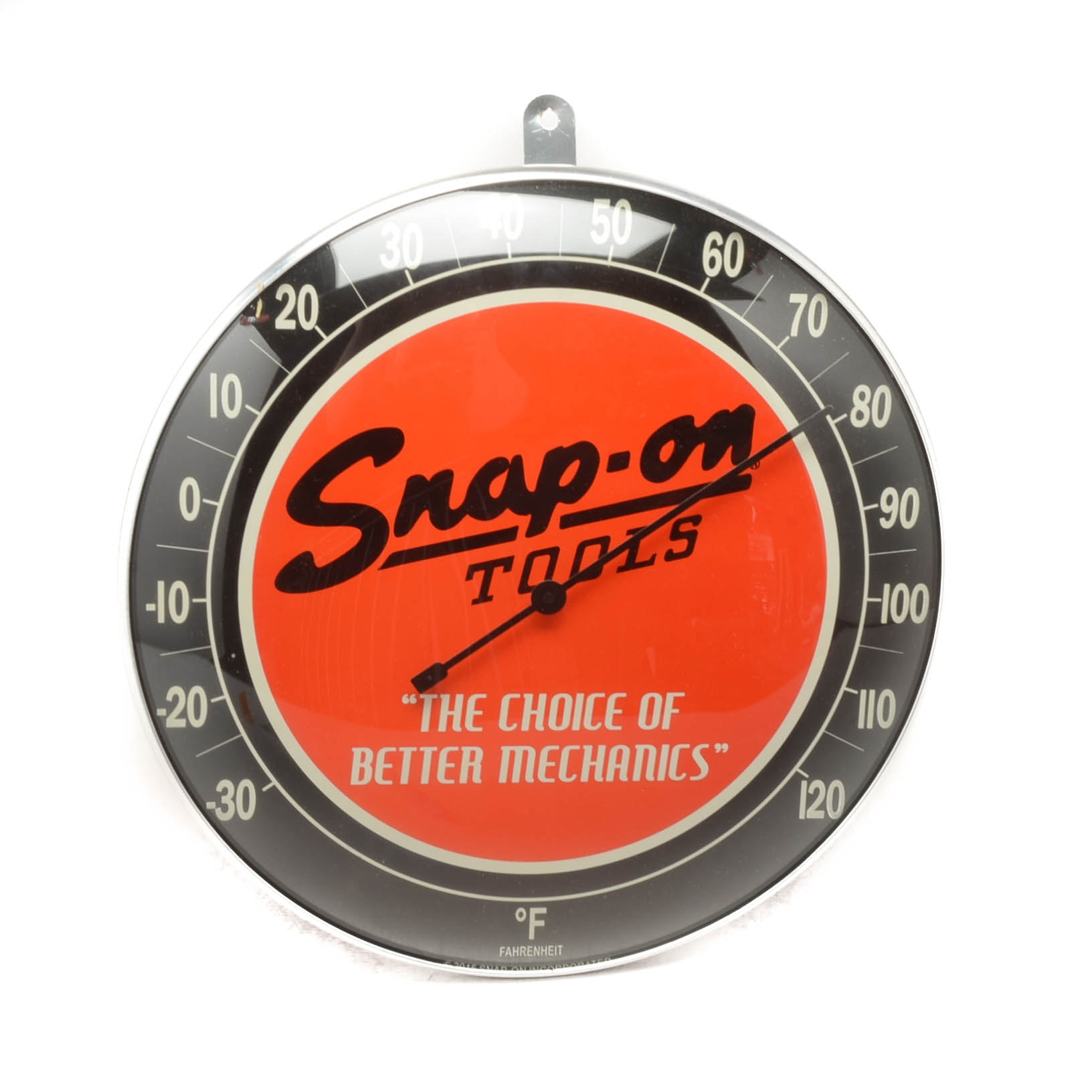 Snap-On Tools Metal Wall Mount Thermometer