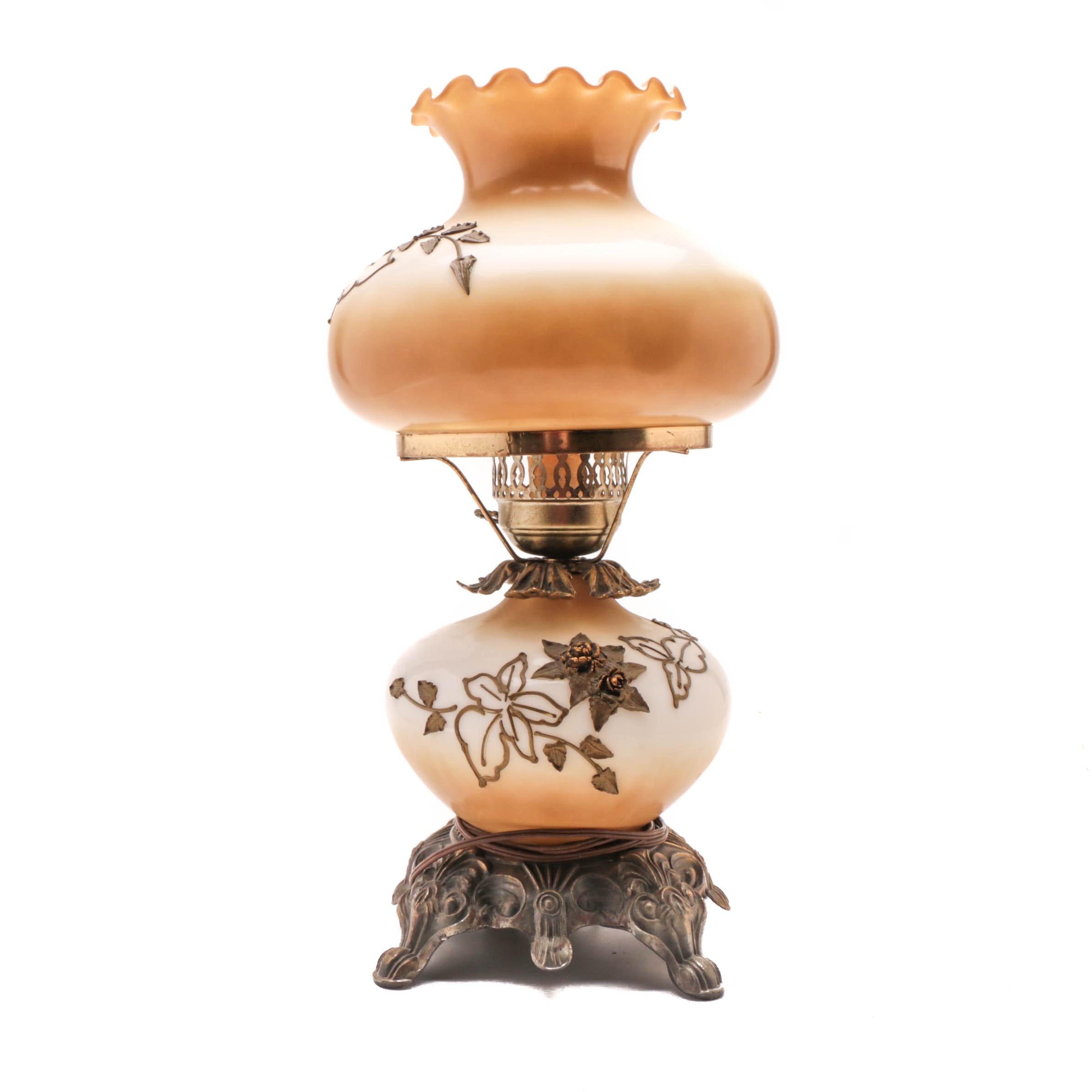 Vintage Kerosene Style Electric Lamp