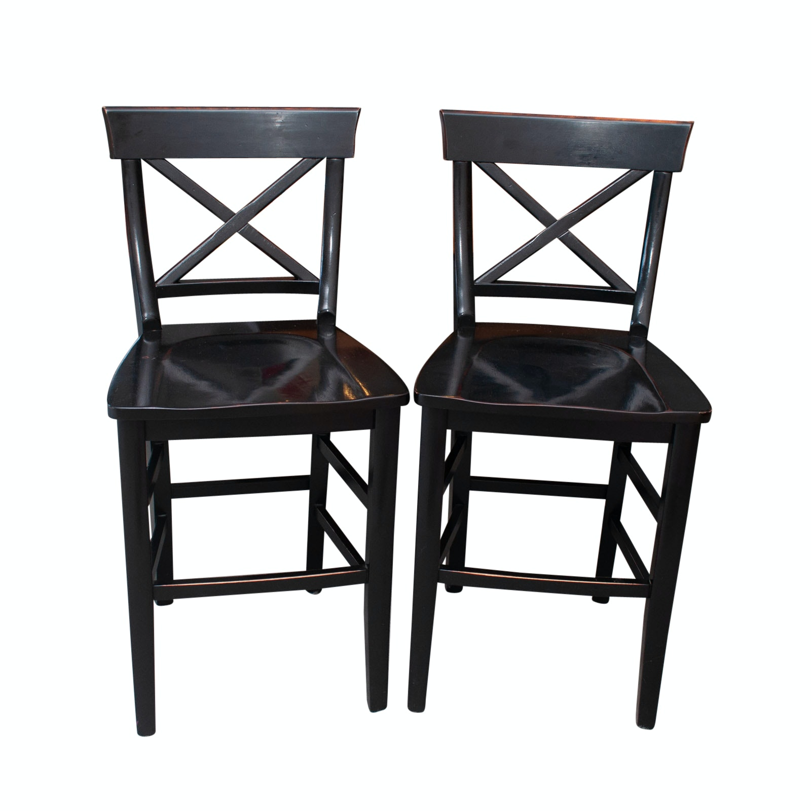 Pairing of Pottery Barn Counter Stools