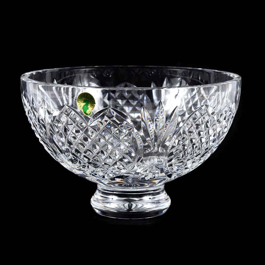 Waterford Crystal Wedding Heirloom Collection Footed