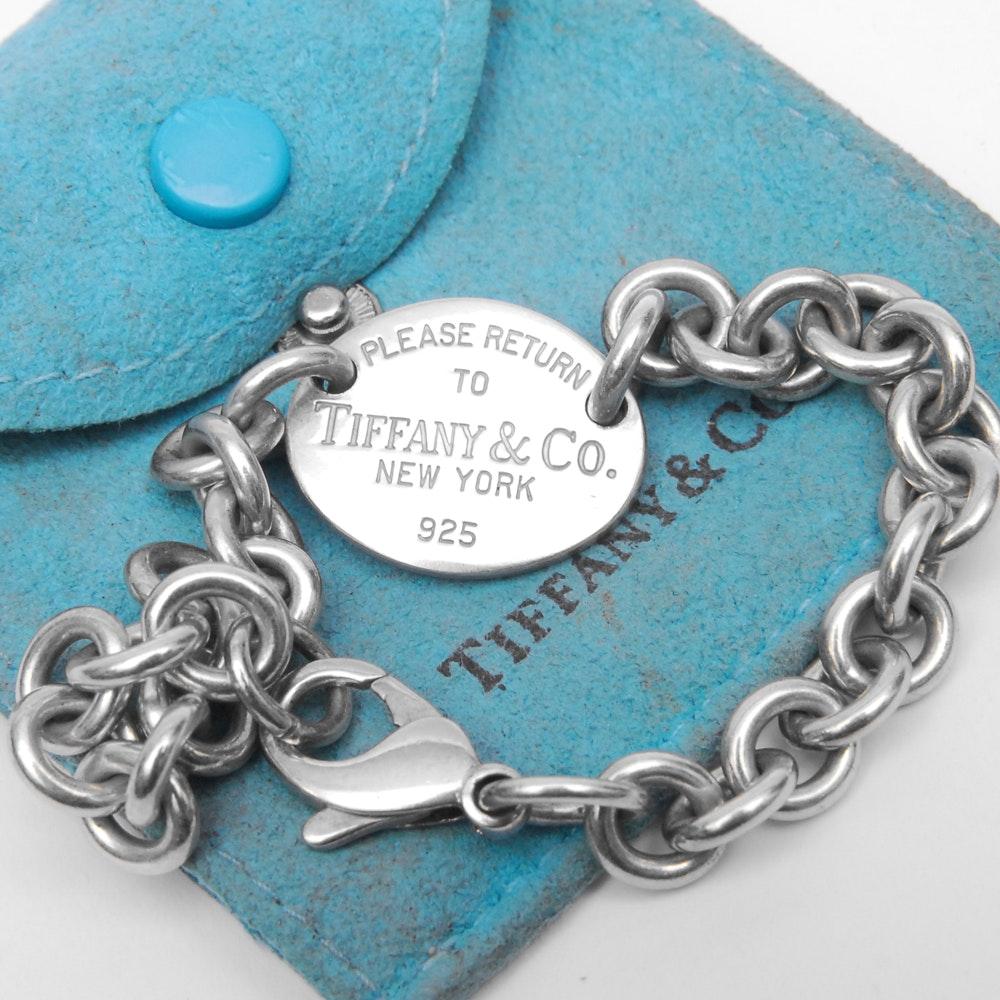 Tiffany & Co. Sterling Silver Identification Bracelet