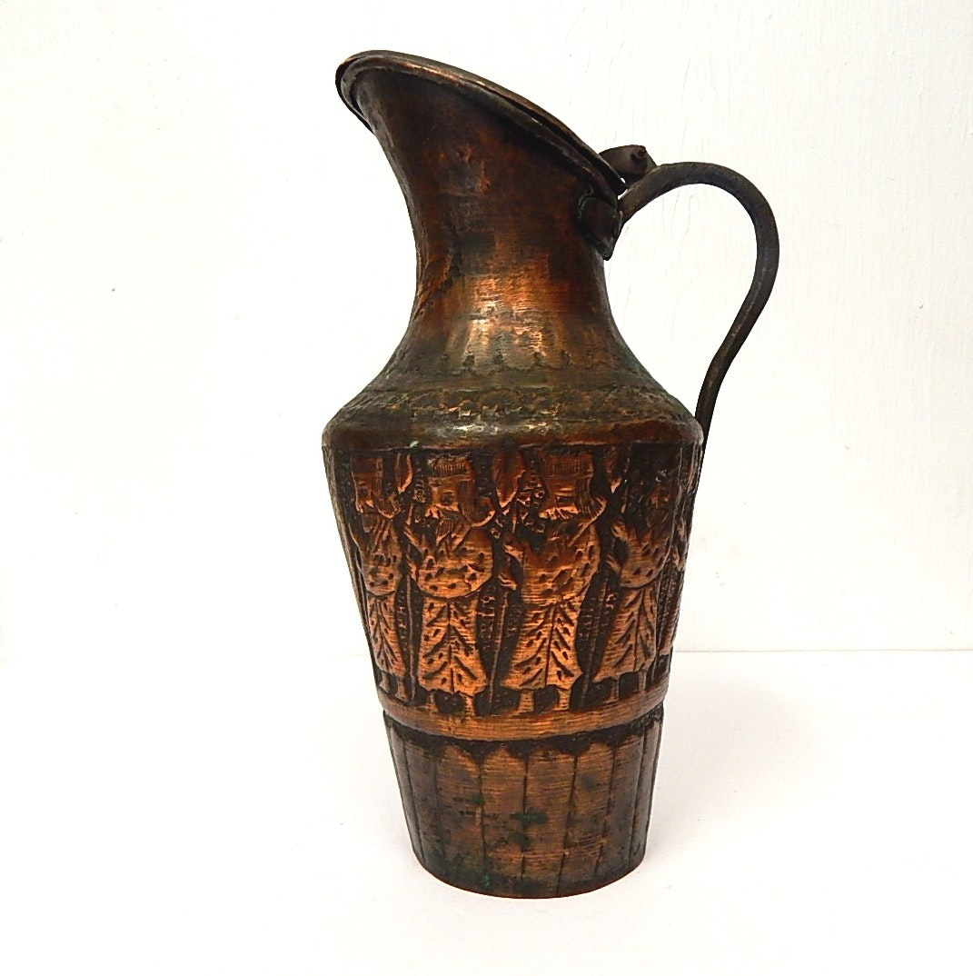 Copper Turkish Water Jug