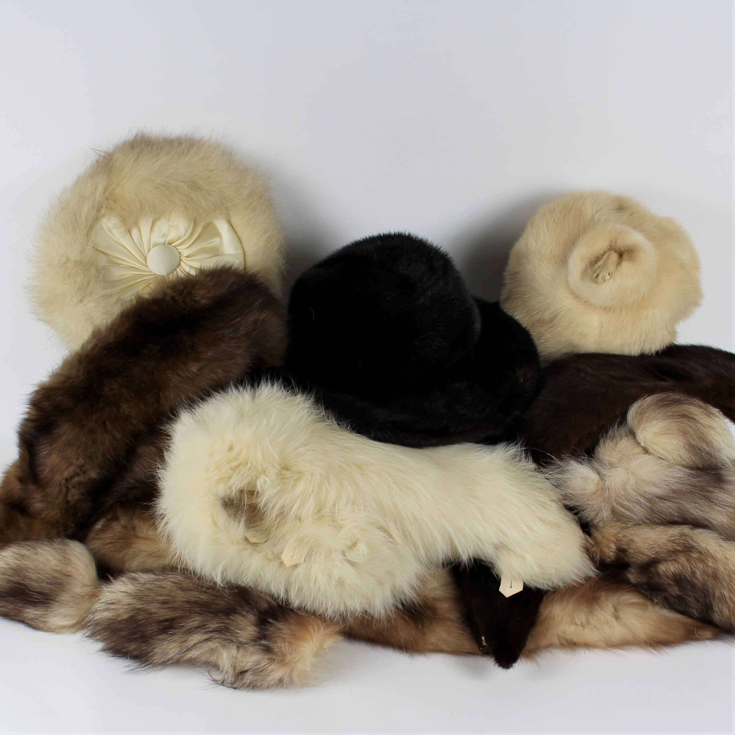 Vintage Vincent & Bill, Amrose and Giffels Fur Hats, Wraps and Pieces