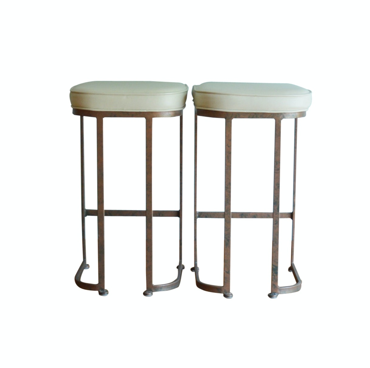 Pair of Johnston Casuals Bar Stools