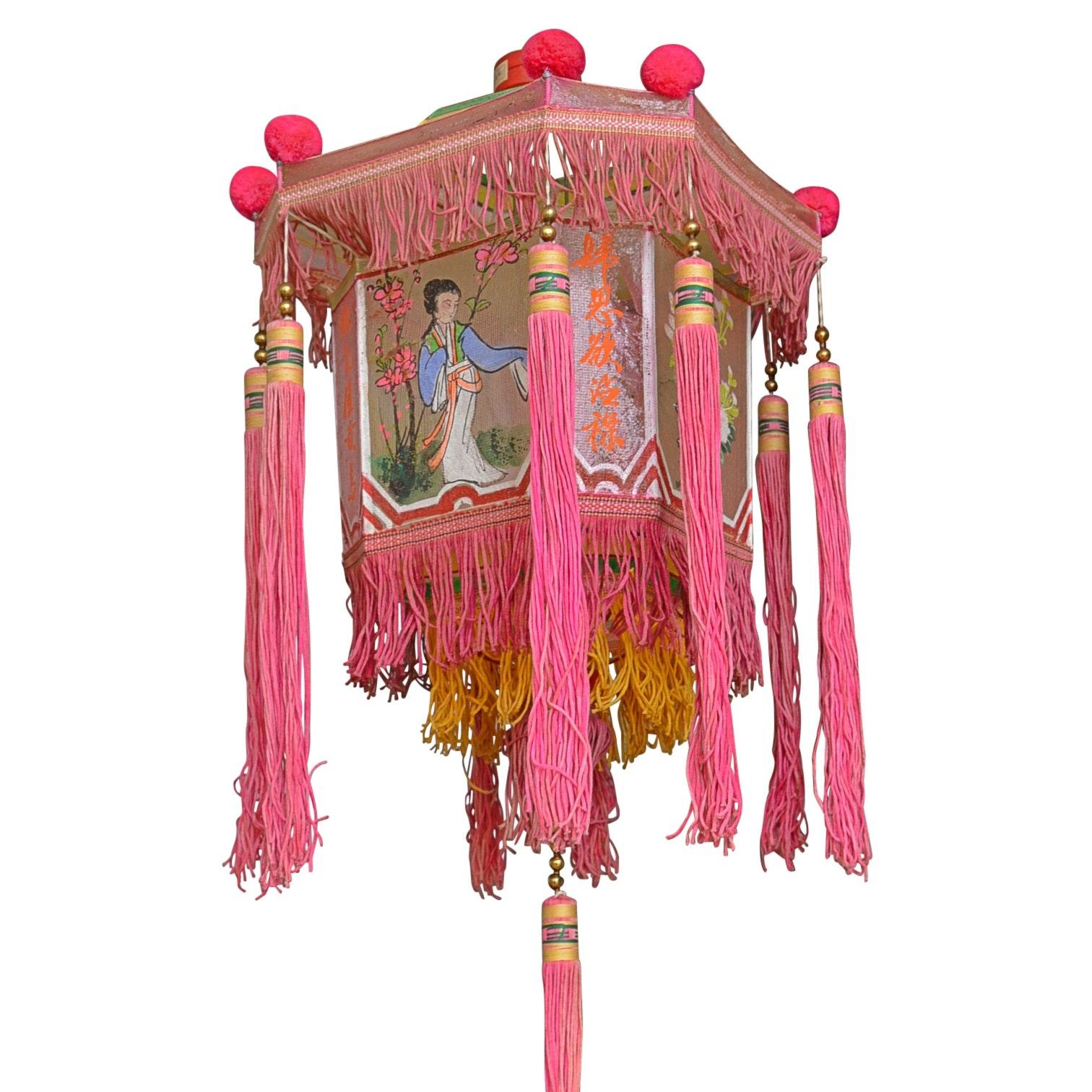 Vintage Chinese Hanging Paper Lanterns
