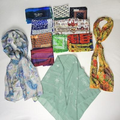 Designer Silk Scarf Collection Featuring DVF 8e651d454d94