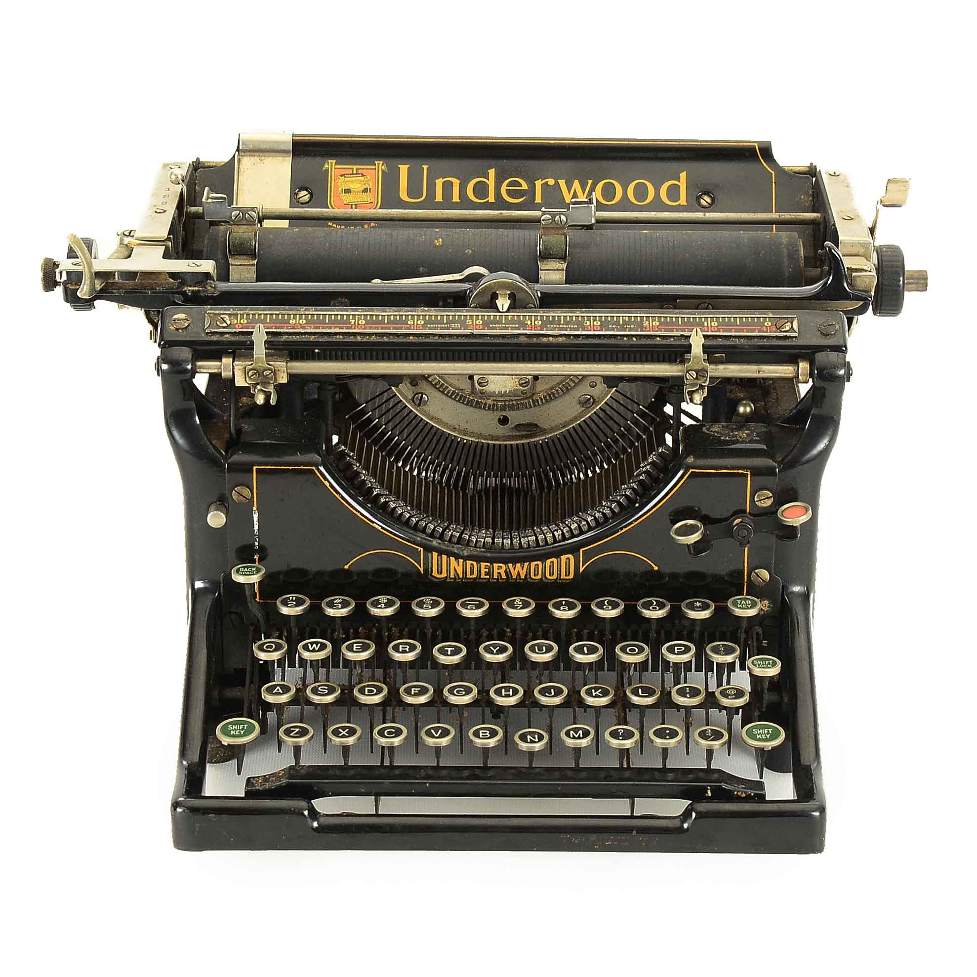 1923 Underwood Typewriter