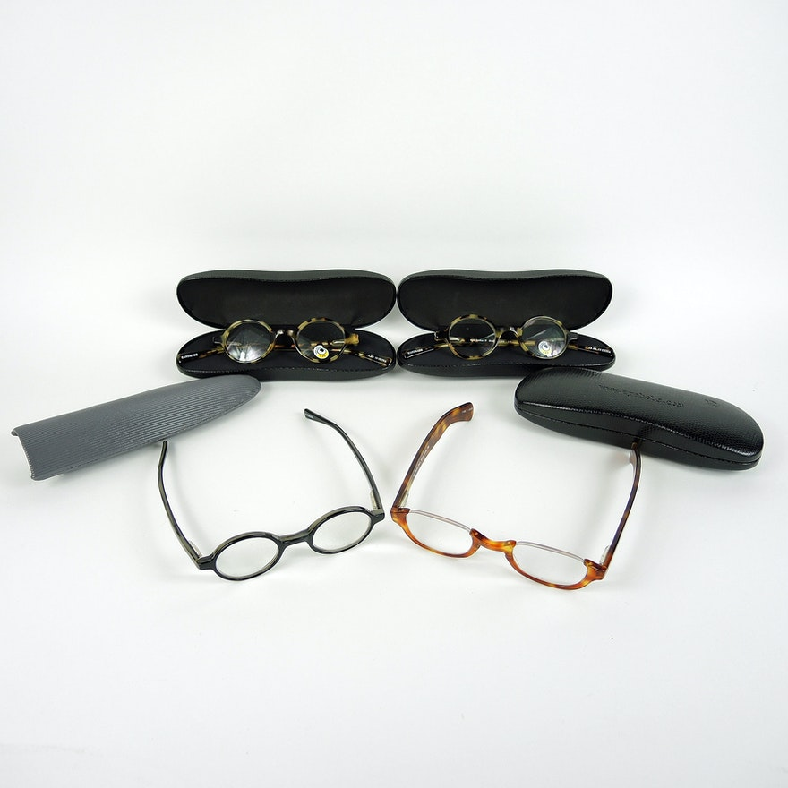 042acf547f36 Eyebobs Reader Glasses with Cases, Some New : EBTH