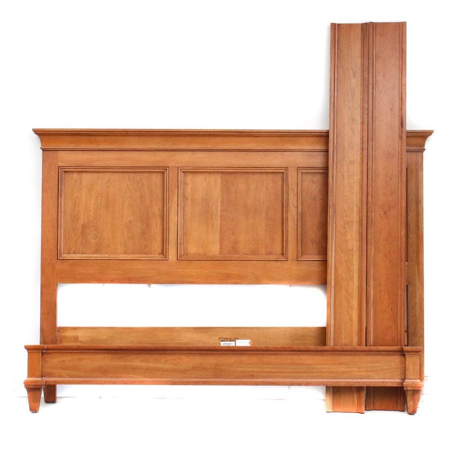 Ethan Allen King Size Bed Frame
