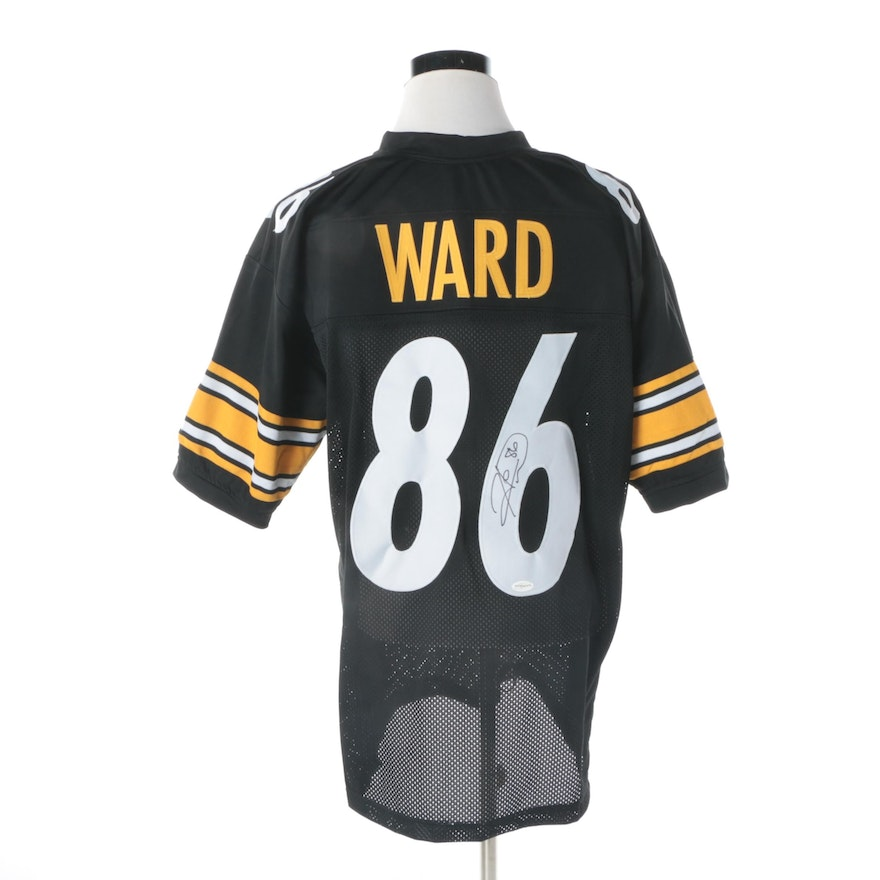 Hines Ward Autographed Pittsburgh Steelers Jersey